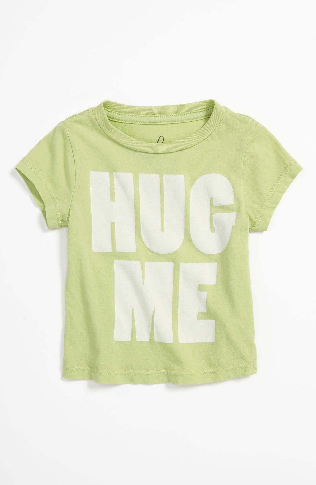 Alternate Image 1 Selected - Peek 'Little Peanut - Hug Me' T-Shirt (Baby)