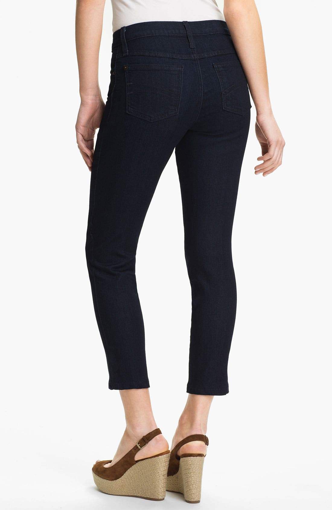 Alternate Image 2  - Second Yoga Jeans Ankle Jeans