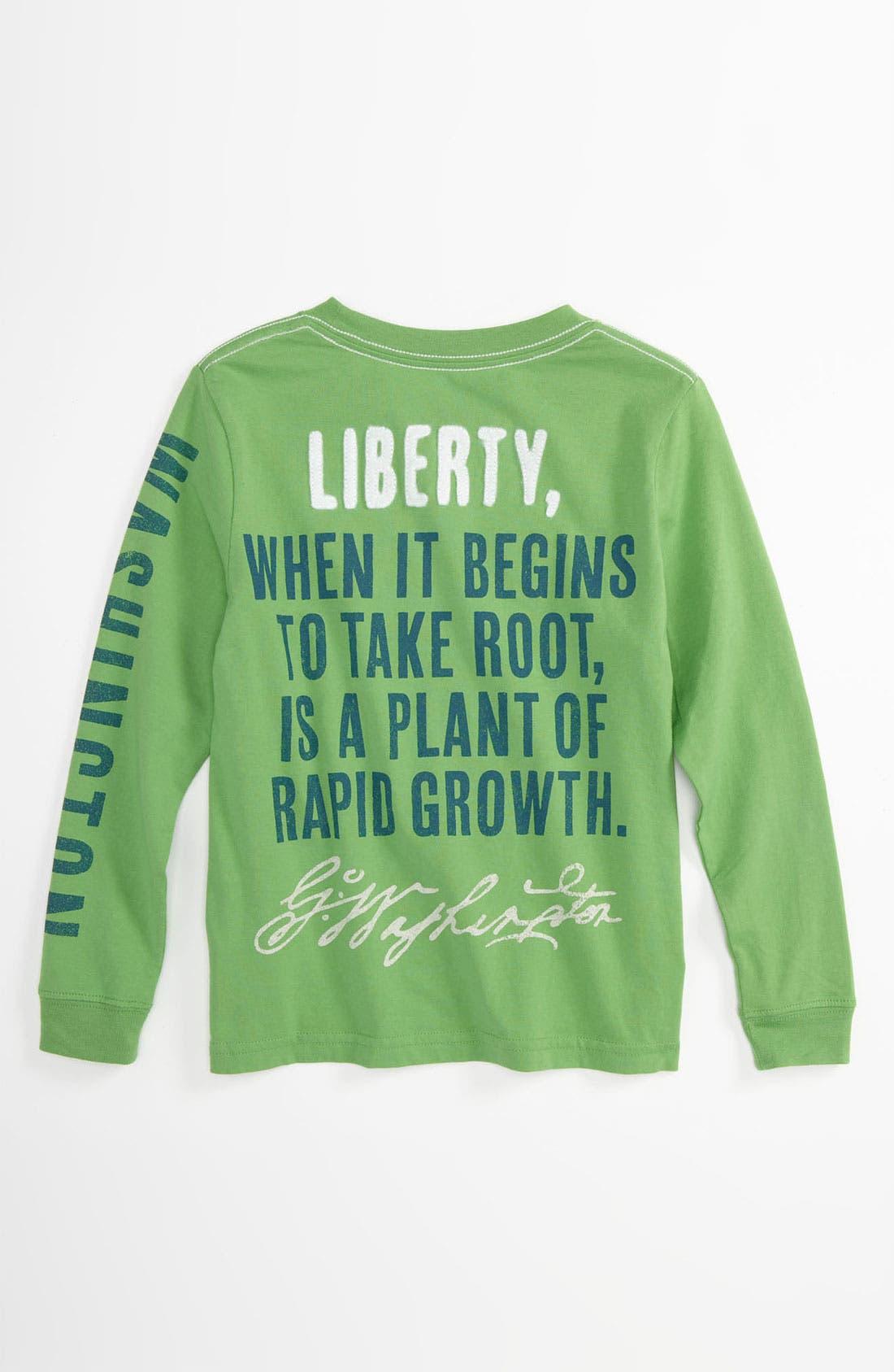 Alternate Image 2  - Peek 'Washington' T-Shirt (Toddler, Little Boys & Big Boys)