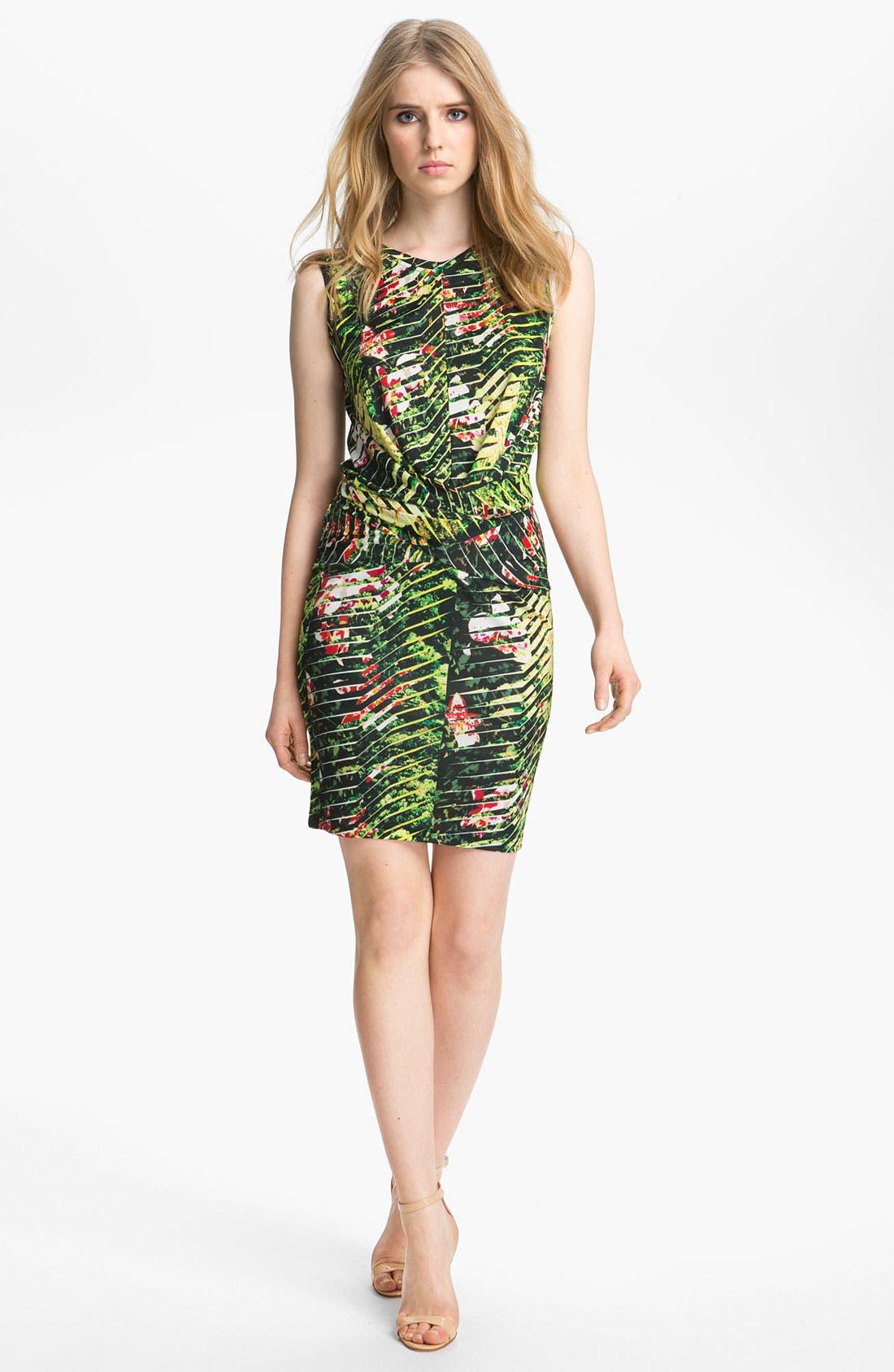 Alternate Image 1 Selected - KENZO Orchid Print Dress