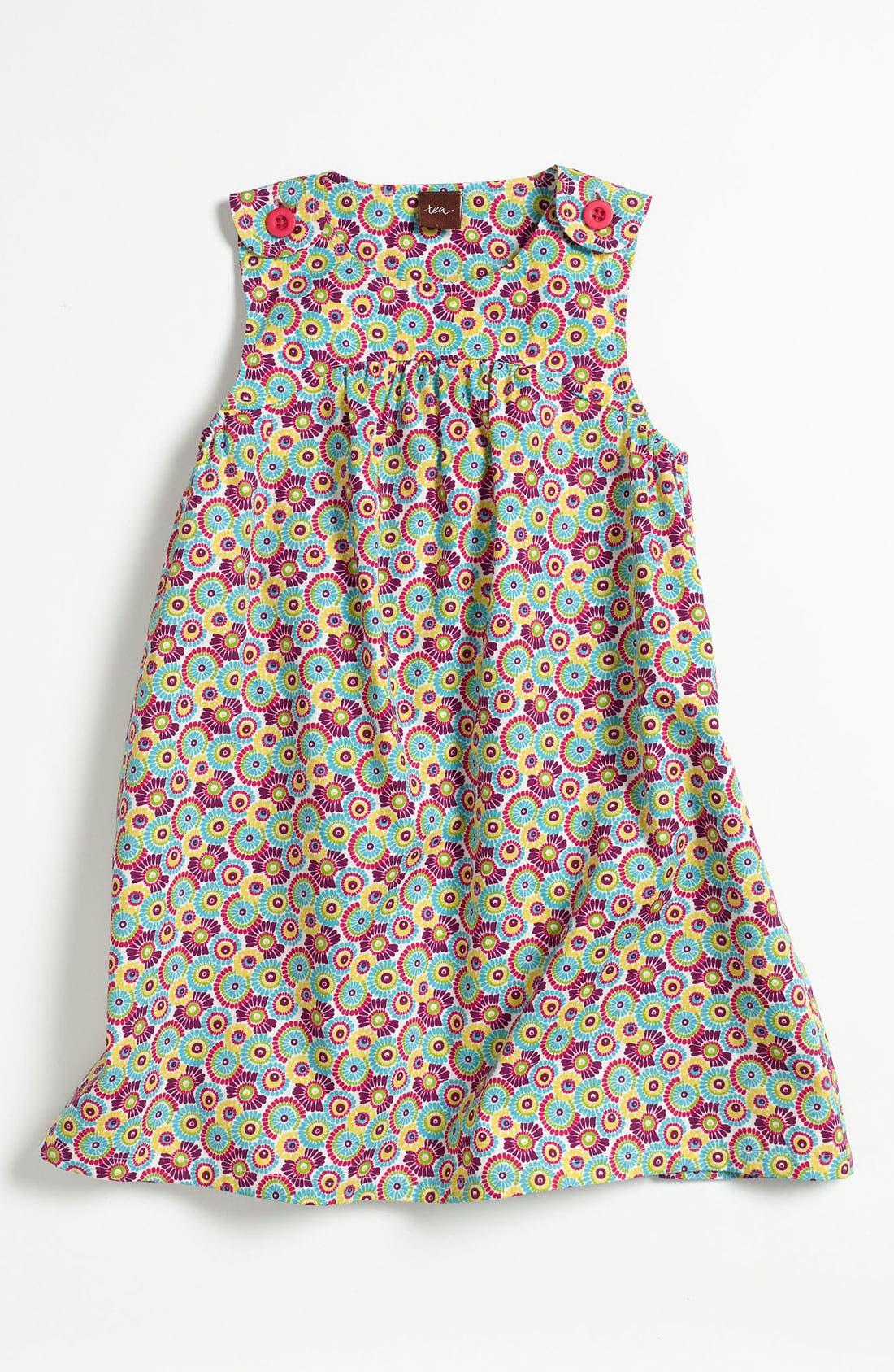 Main Image - Tea Collection 'Cactus Flower' Dress (Toddler, Little Girls & Big Girls)