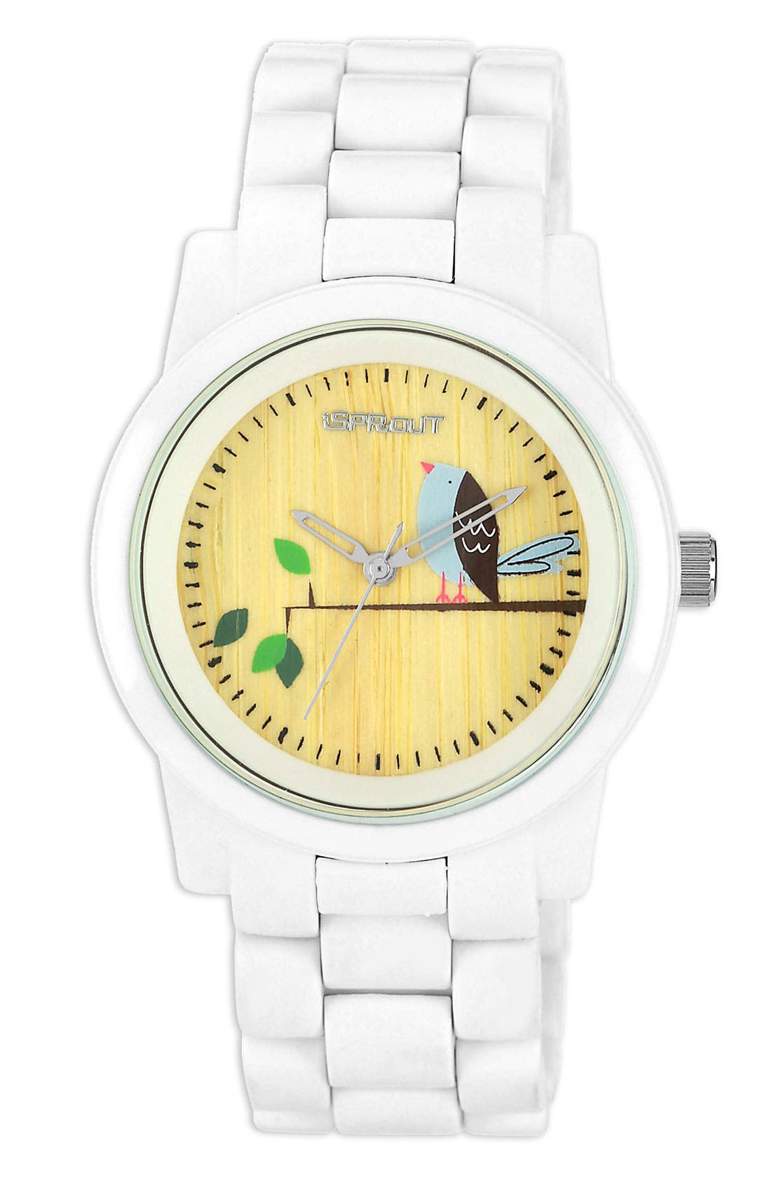 Alternate Image 1 Selected - SPROUT™ Watches Bird Dial Bracelet Watch, 38mm