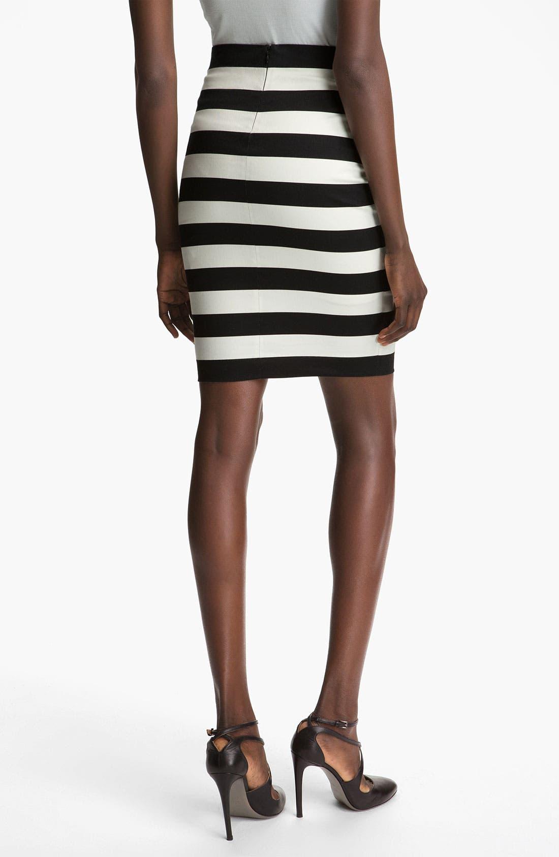 Alternate Image 2  - Robert Rodriguez Graphic Stripe Pencil Skirt