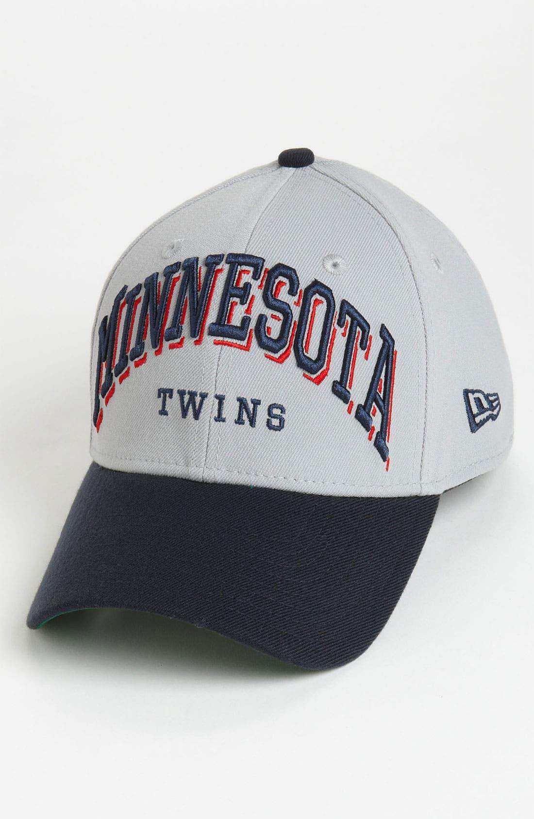 Alternate Image 1 Selected - New Era Cap 'Minnesota Twins - Arch Mark' Fitted Baseball Cap