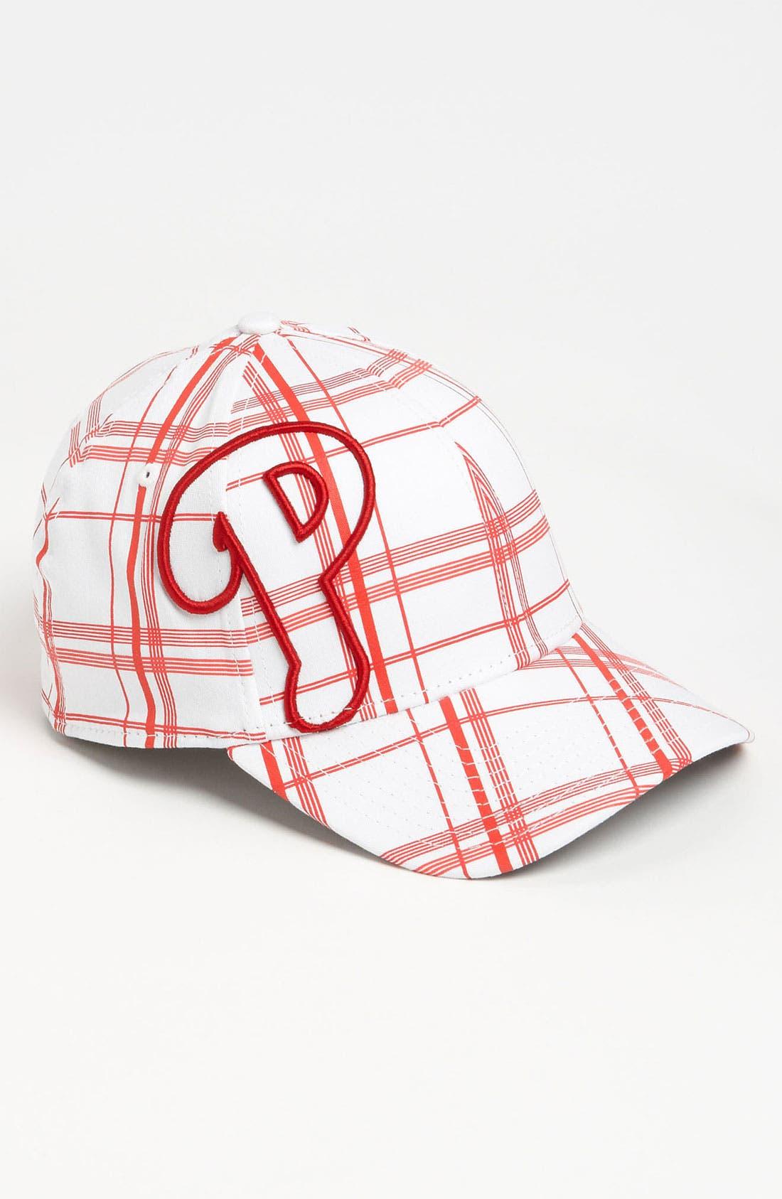 'Pipeline - Philadelphia Phillies' Baseball Cap,                         Main,                         color, White/ Red