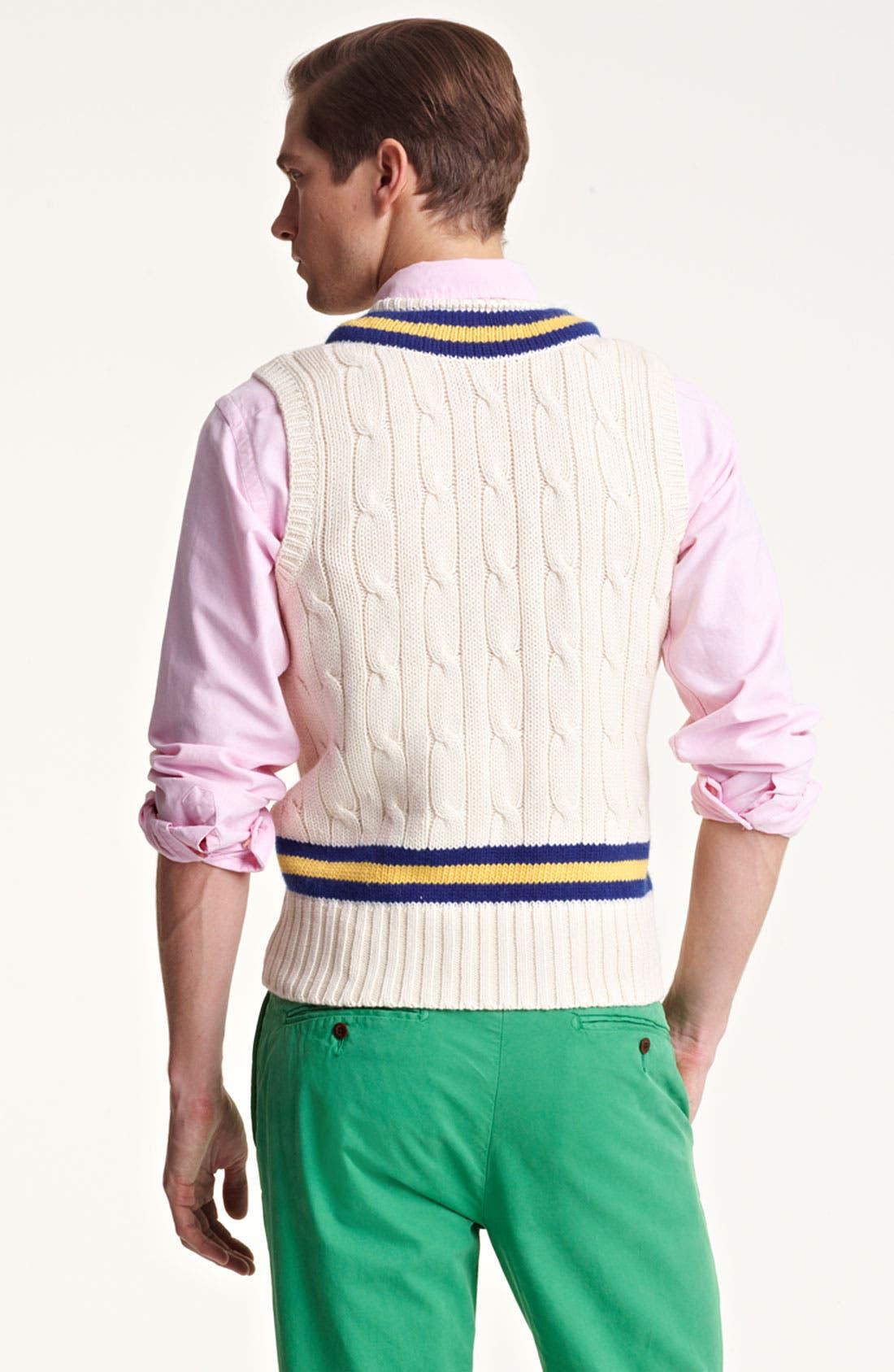Alternate Image 2  - Polo Ralph Lauren V-Neck Sweater Vest