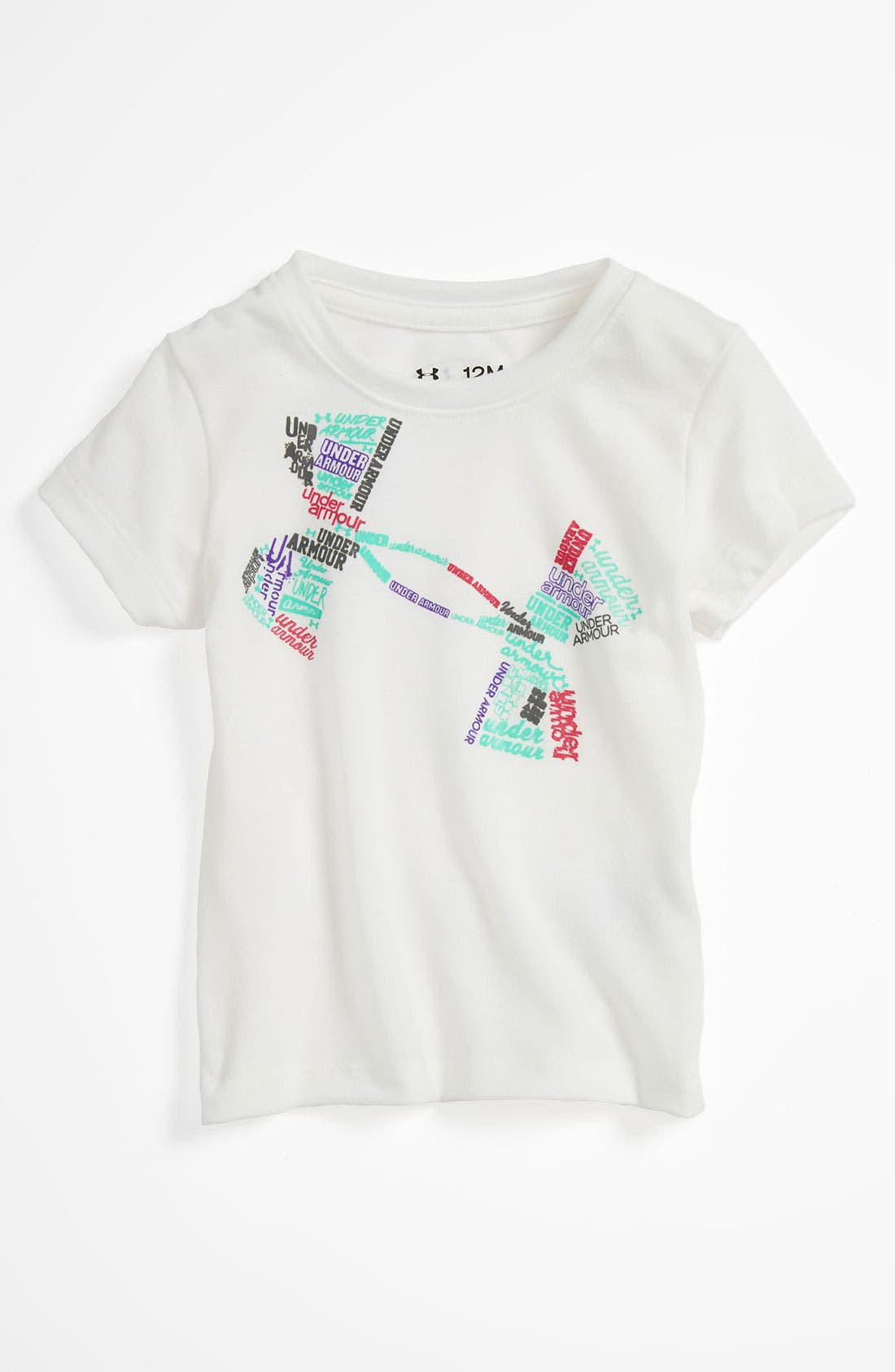 Main Image - Under Armour Tee (Baby)