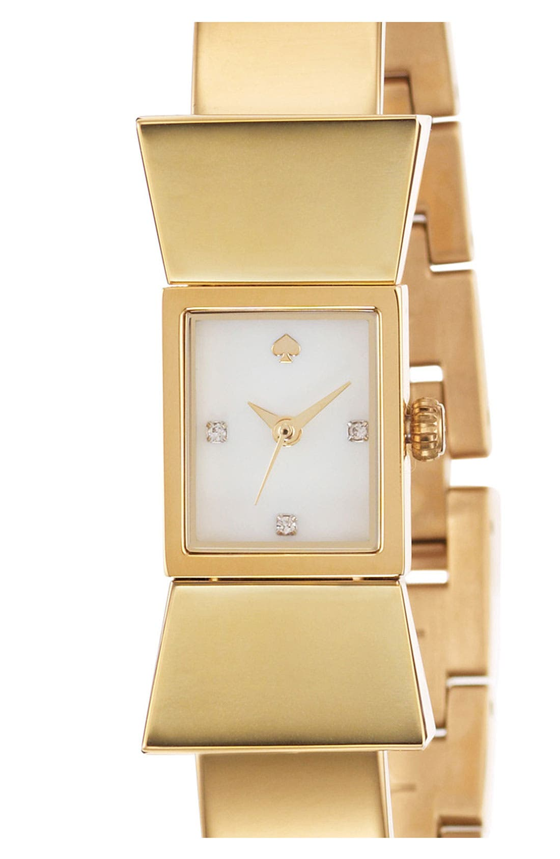 Alternate Image 1 Selected - kate spade new york 'carlyle' bangle watch, 20mm x 43mm