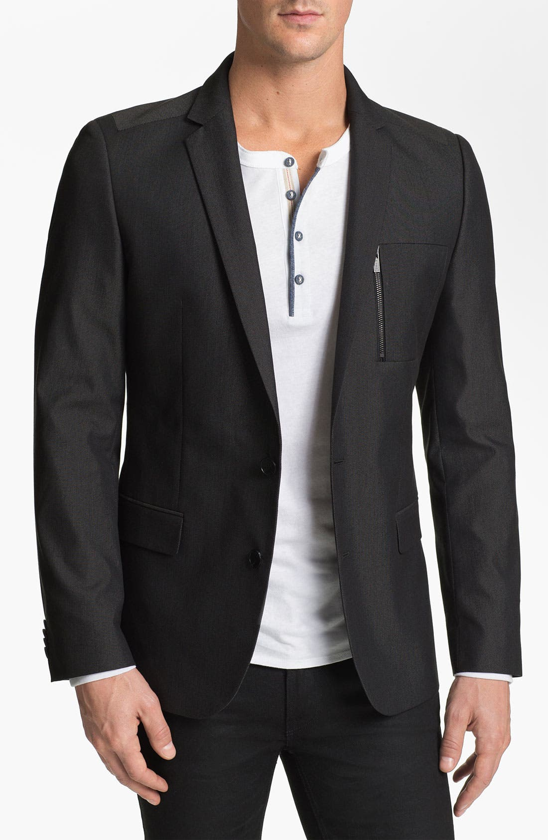 Alternate Image 1 Selected - HUGO 'Astus' Extra Trim Fit Blazer
