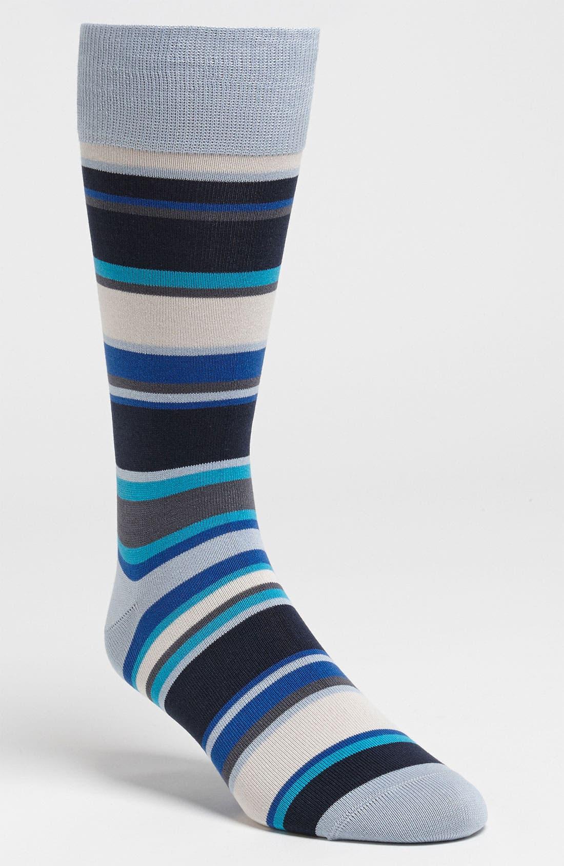 Alternate Image 1 Selected - Paul Smith Accessories 'London' Stripe Socks