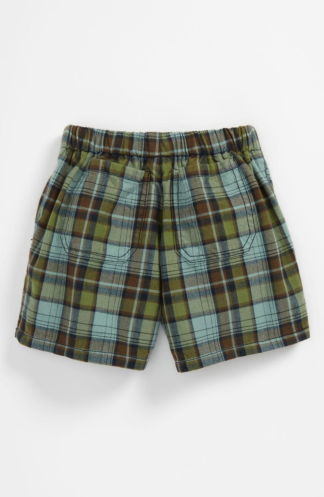 Alternate Image 2  - Peek 'Bangalore - Havasu Plaid' Shorts (Baby)