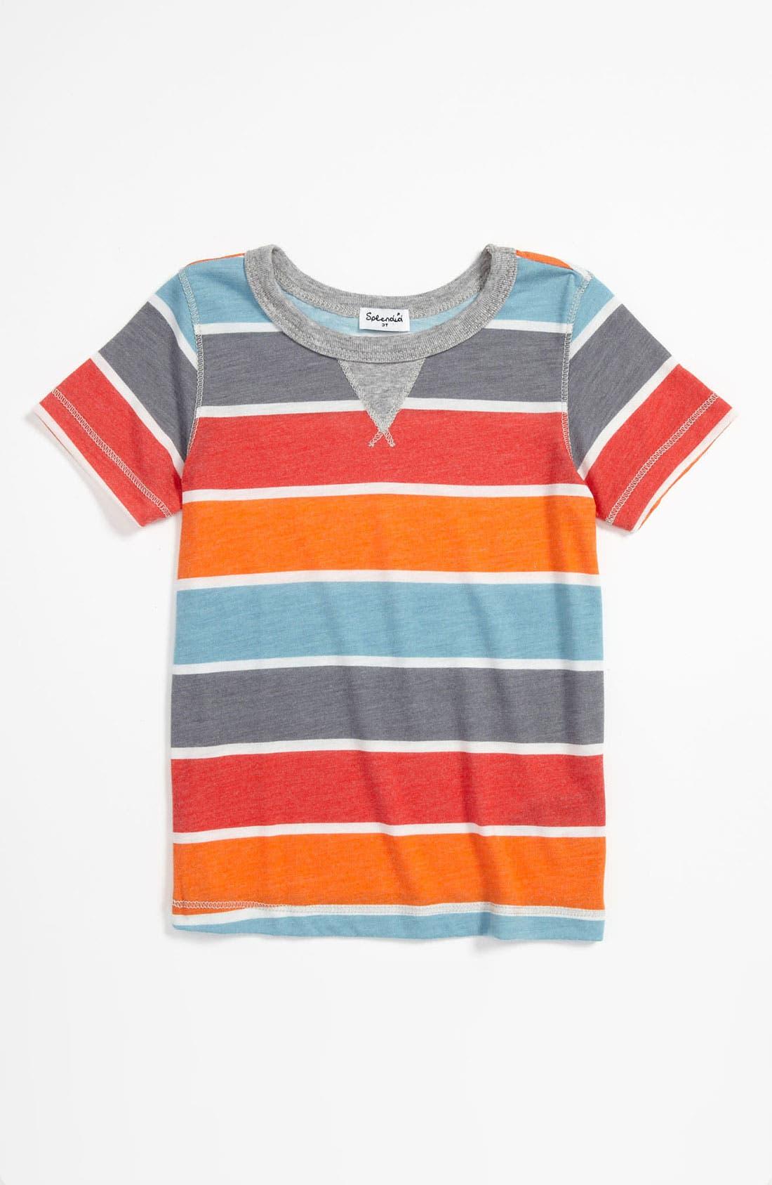 Alternate Image 1 Selected - Splendid Stripe T-Shirt (Toddler)