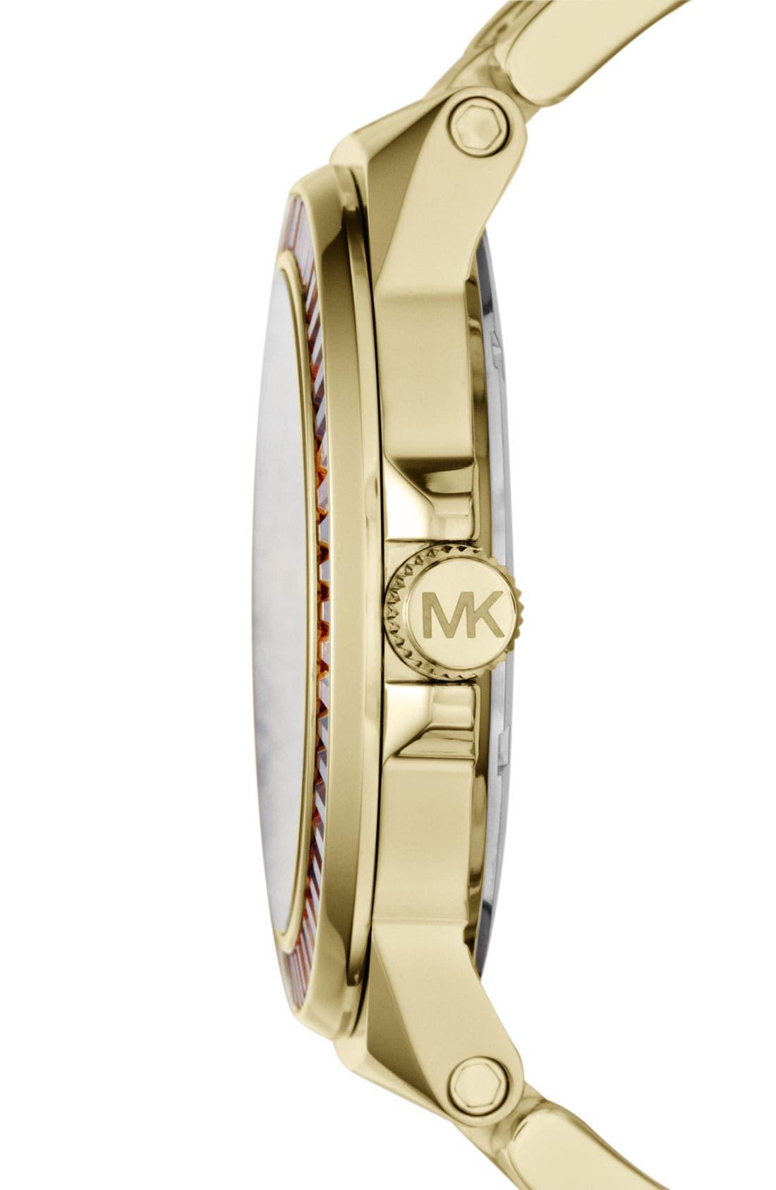 Alternate Image 2  - Michael Kors 'Gramercy' Round Bracelet Watch, 45mm