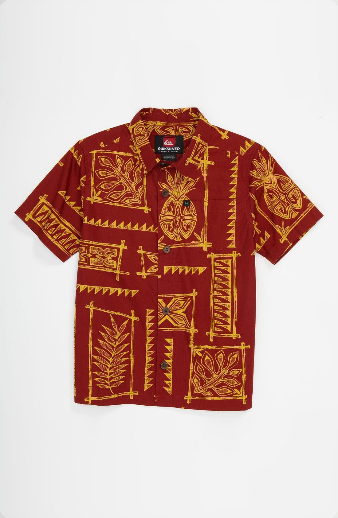 Alternate Image 1 Selected - Quiksilver 'Kapaa' Woven Shirt (Little Boys & Big Boys)