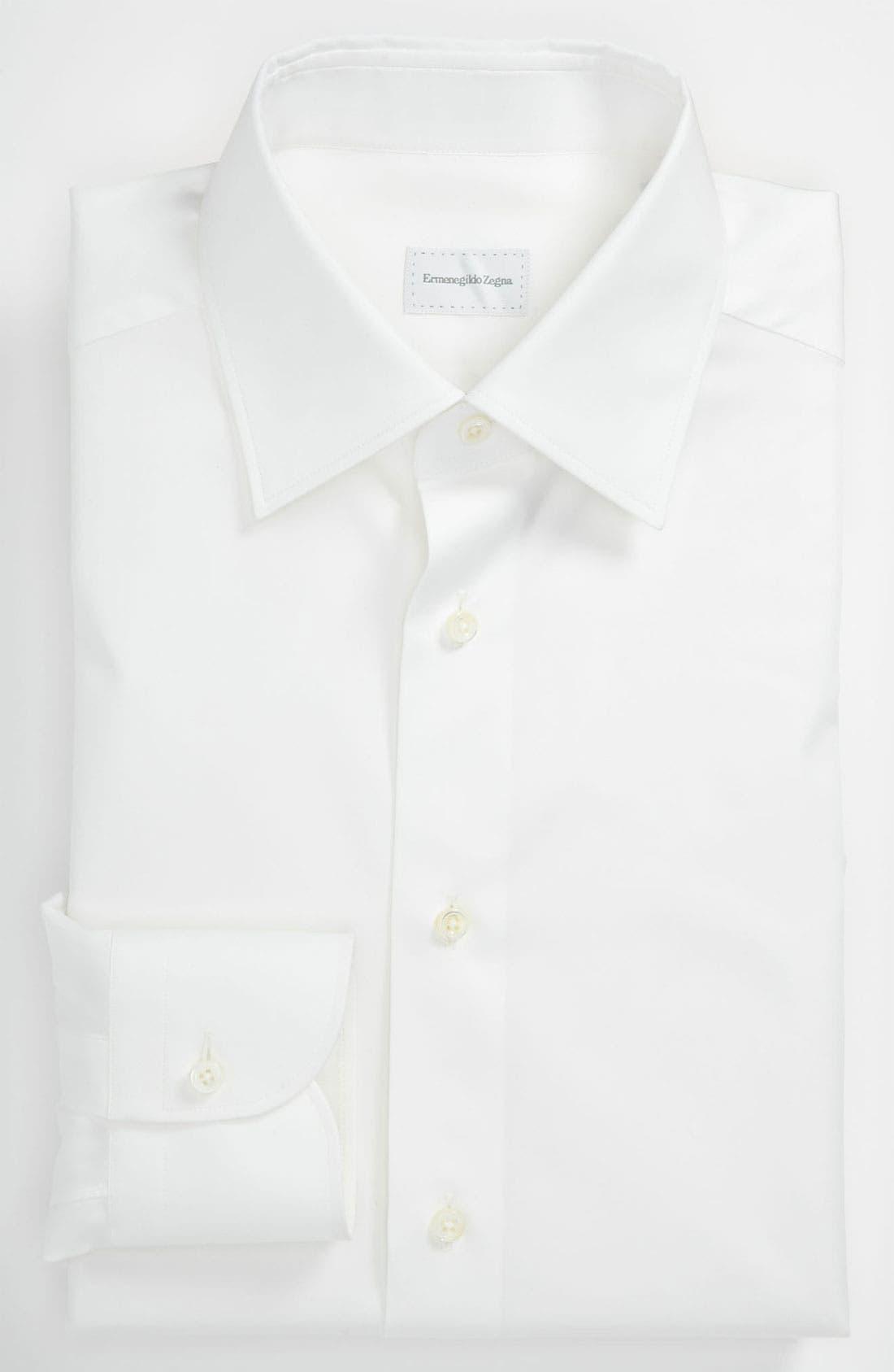 Main Image - Ermenegildo Zegna Regular Fit Dress Shirt