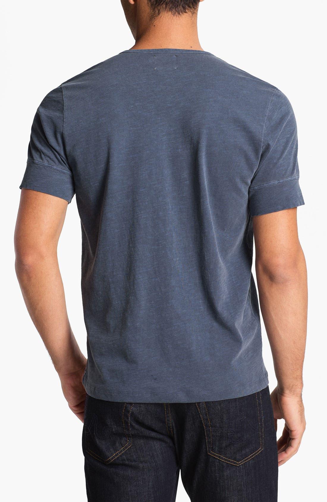 Alternate Image 2  - AG Jeans Short Sleeve Henley T-Shirt