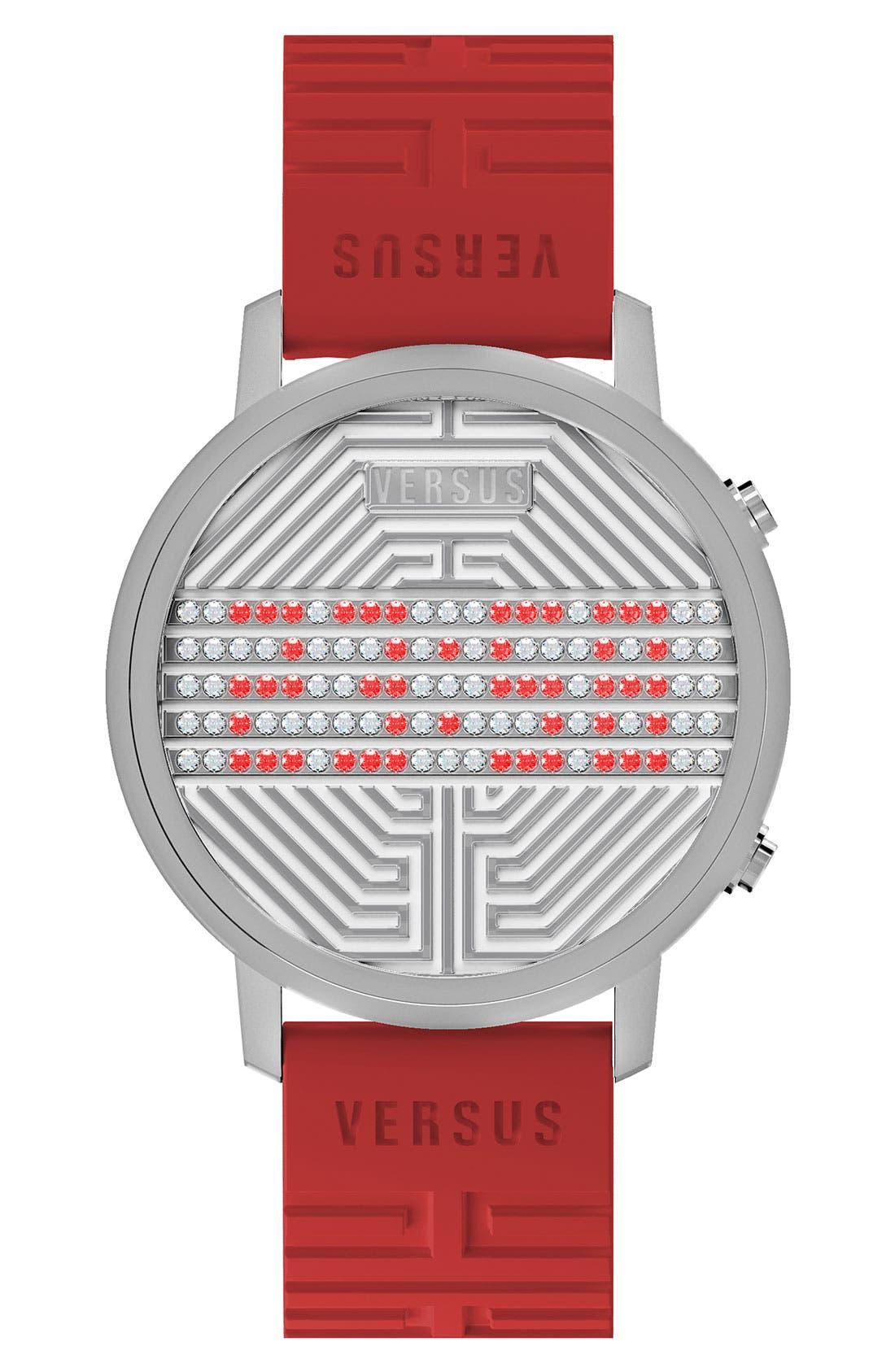 Main Image - VERSUS by Versace 'Hollywood' Digital Watch, 31mm