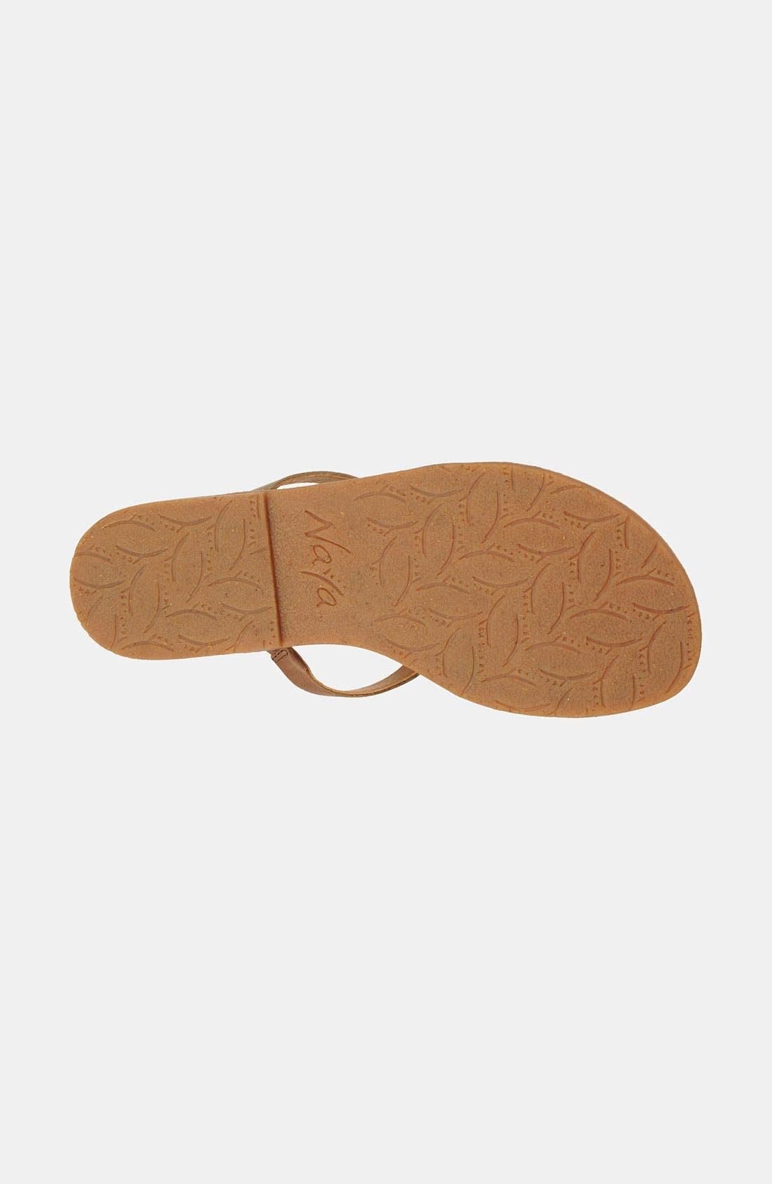 Alternate Image 4  - Naya 'Painted Sock' Sandal
