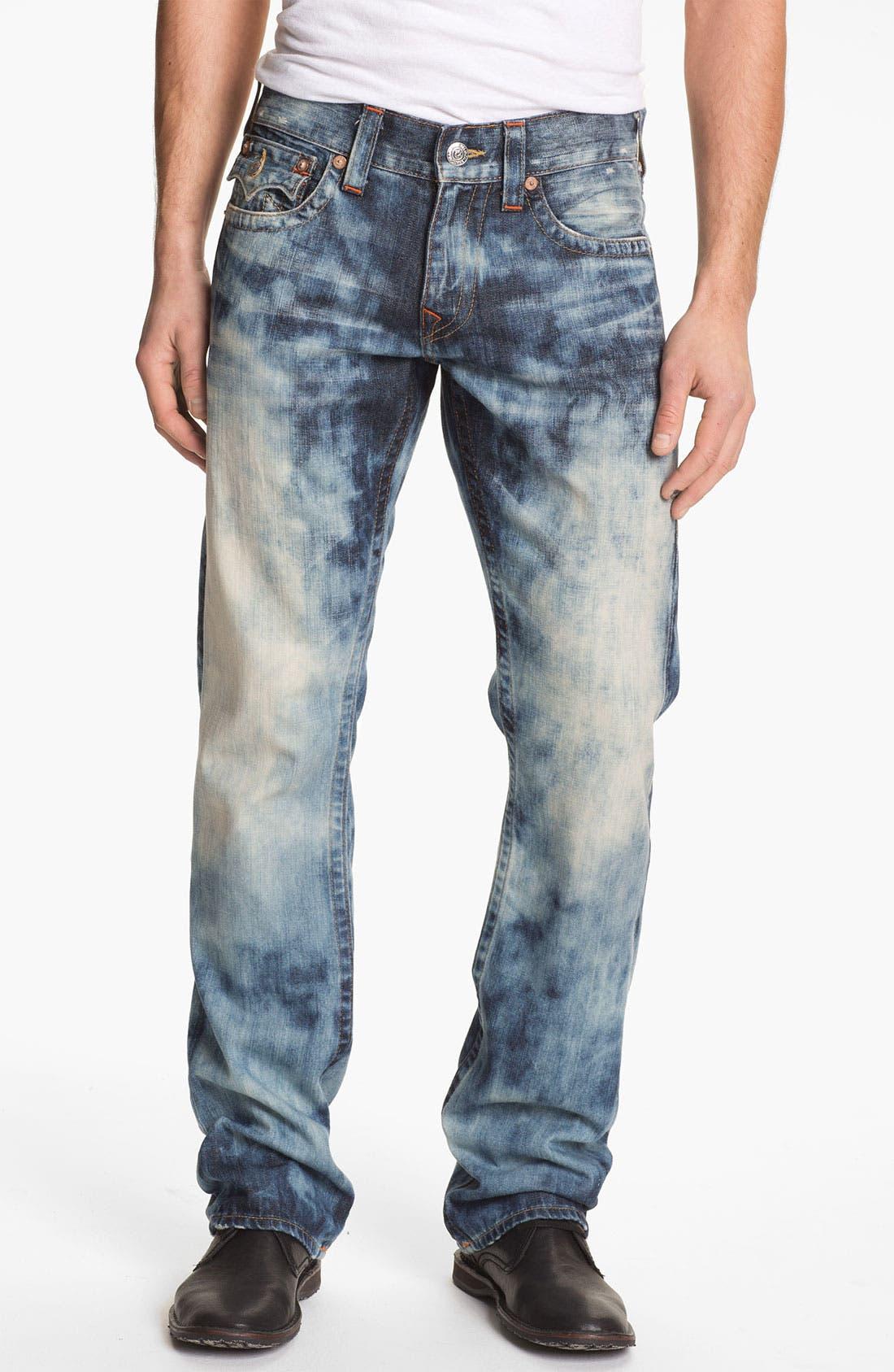 Alternate Image 2  - True Religion Brand Jeans 'Ricky' Straight Leg Jeans (Antelope)
