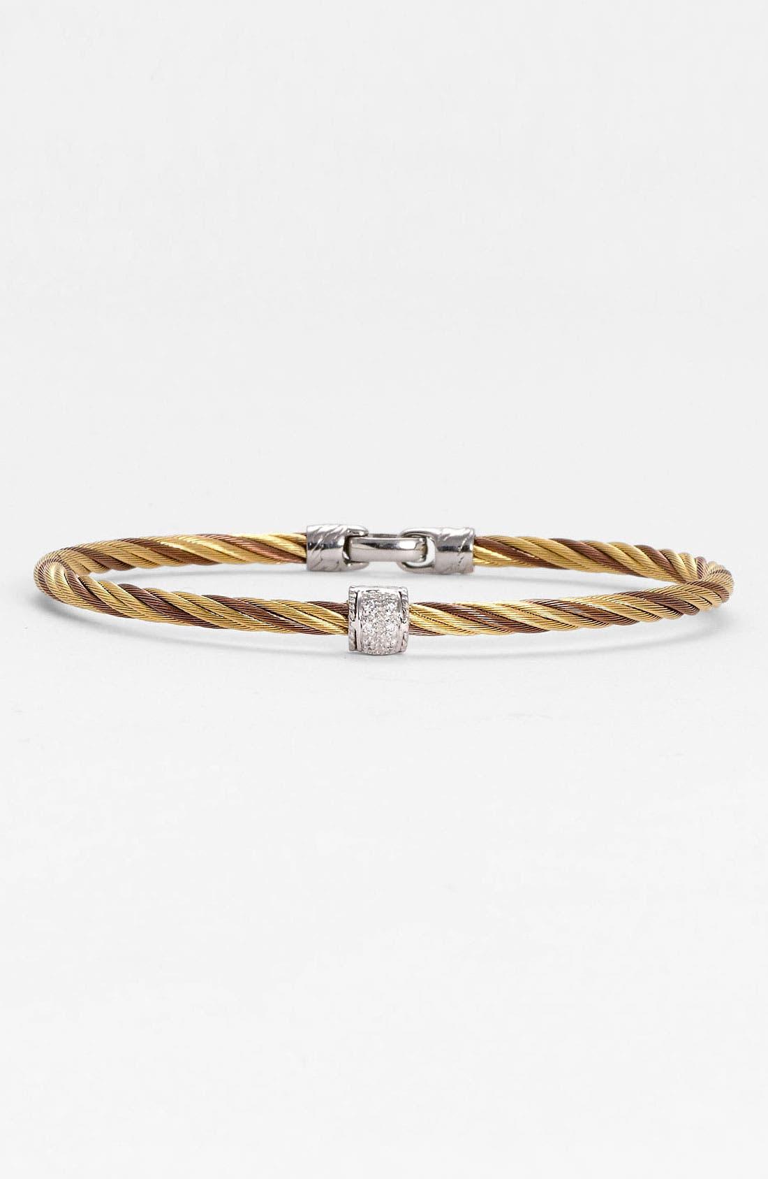 Alternate Image 1 Selected - ALOR® Twisted Bracelet