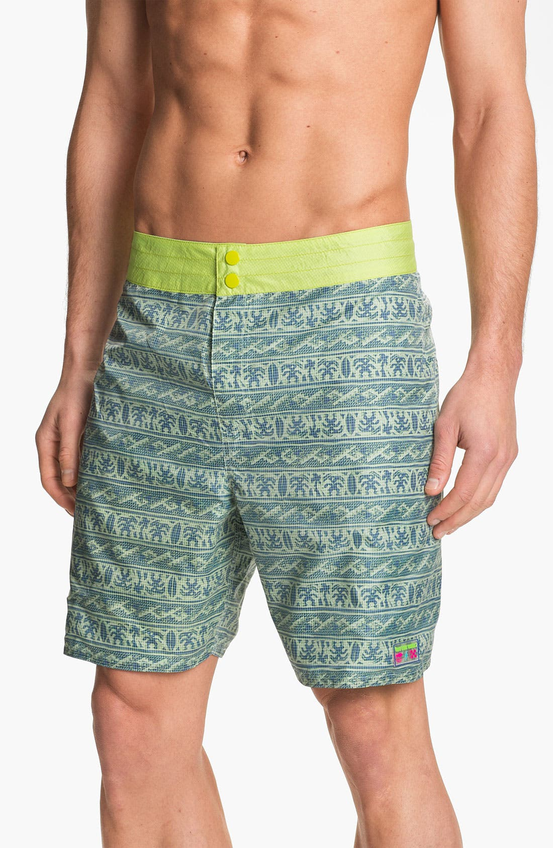 Alternate Image 2  - Vans 'Slasher' Reversible Board Shorts