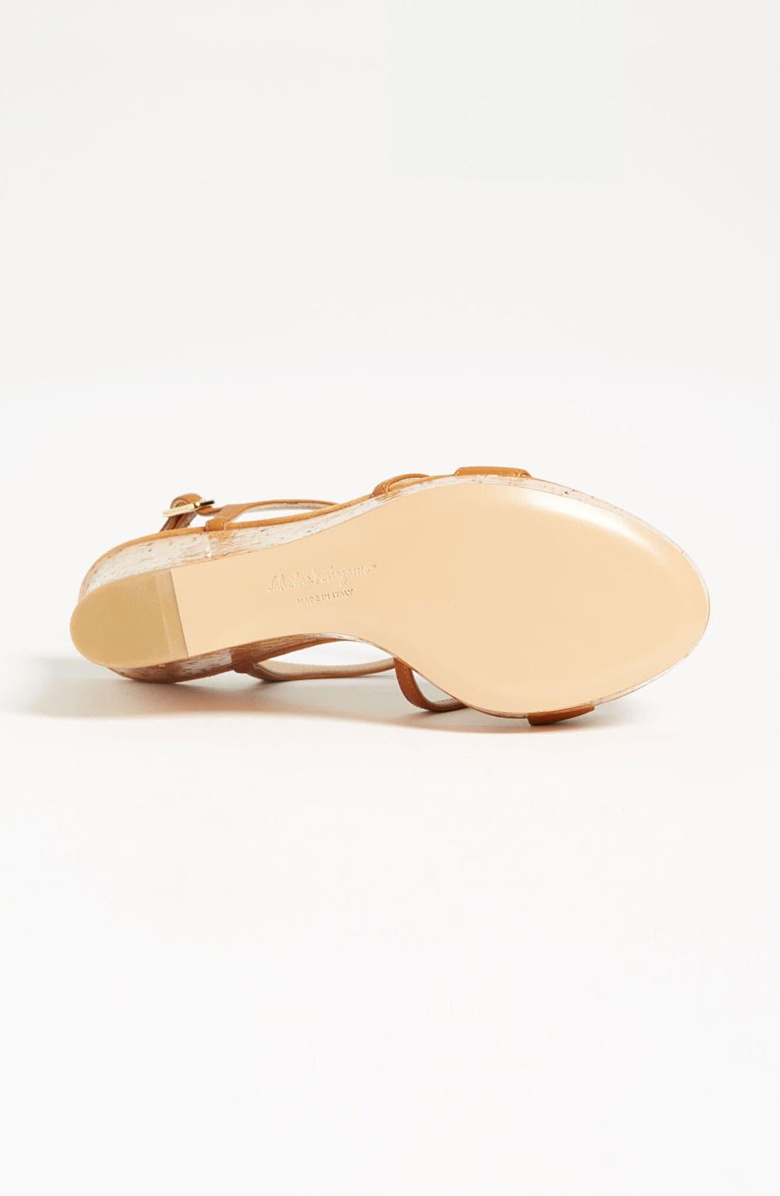 Alternate Image 4  - Salvatore Ferragamo 'Savita' Sandal