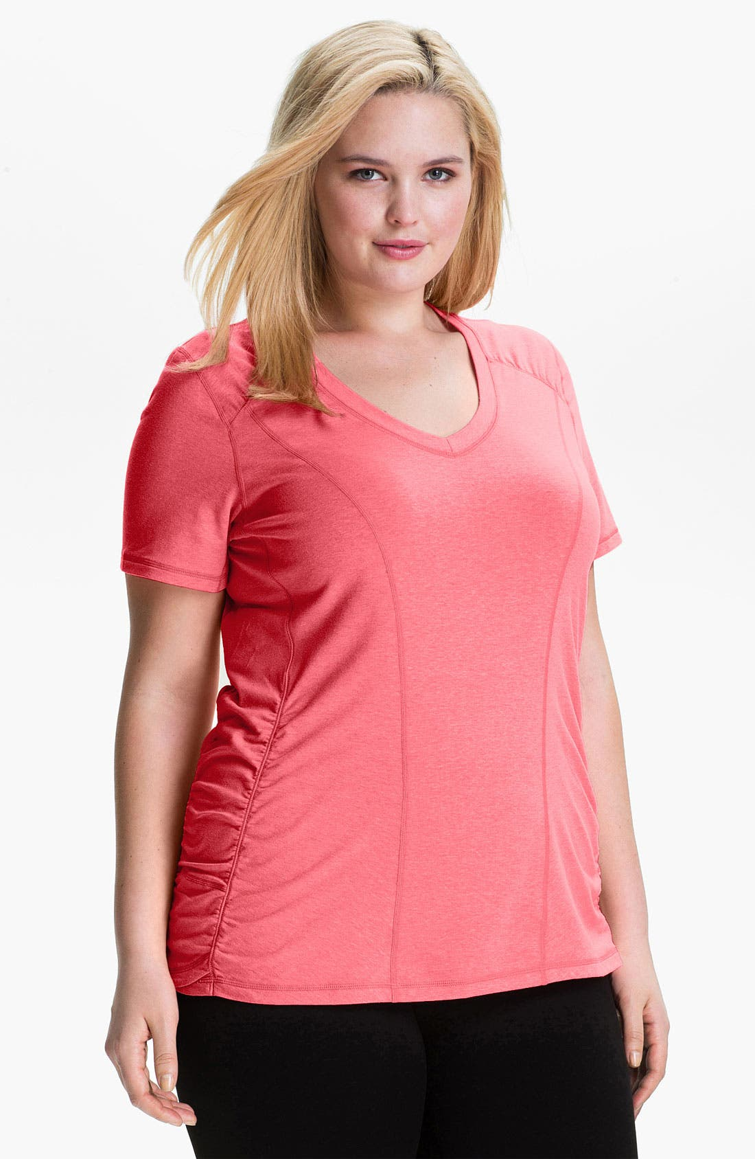 Alternate Image 1 Selected - Zella 'Z 4' Tee (Plus Size)