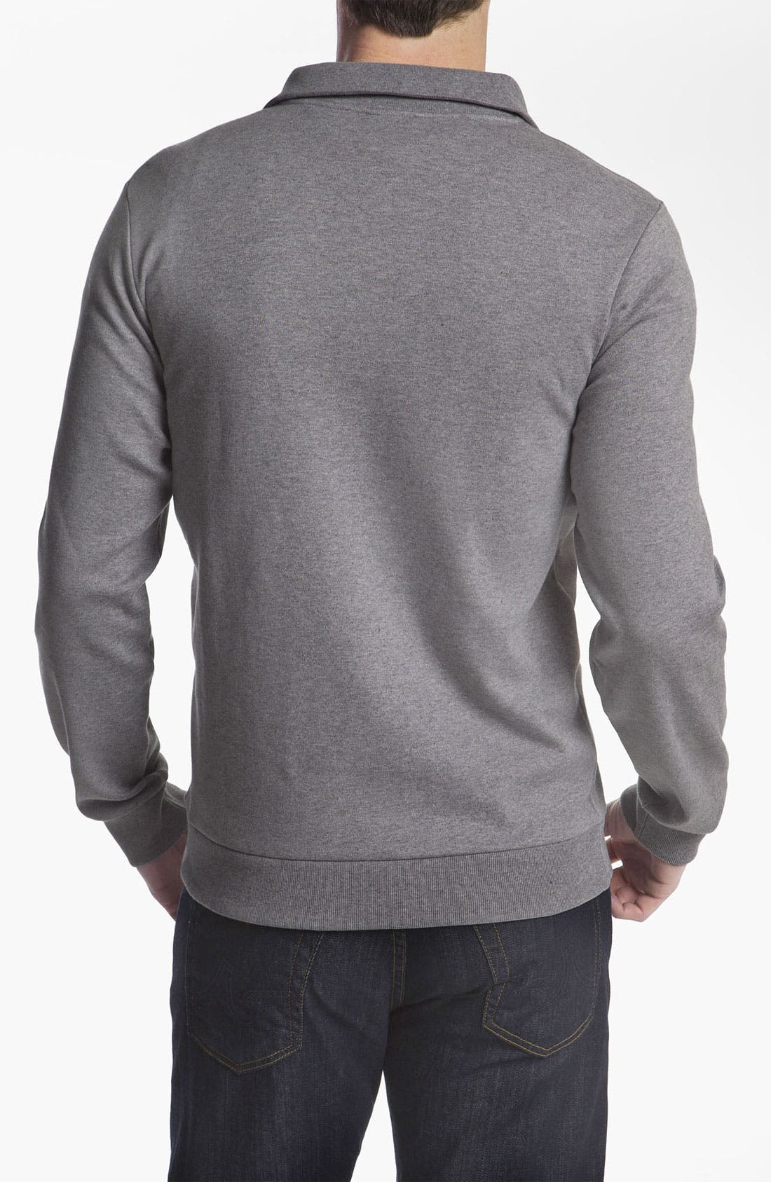 Alternate Image 2  - Lacoste Quarter Zip Sweater