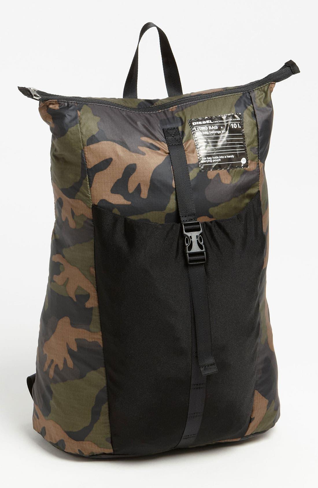 Alternate Image 1 Selected - DIESEL® 'Litro' Backpack