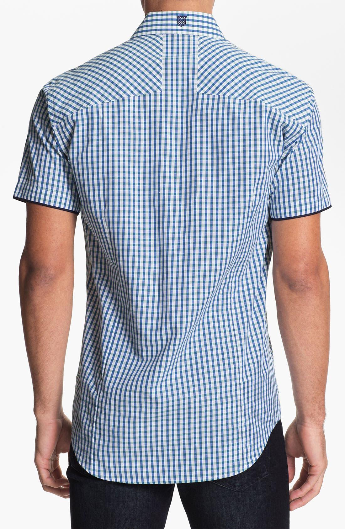 Alternate Image 2  - Bogosse 'Mini Georgio 43' Trim Fit Sport Shirt