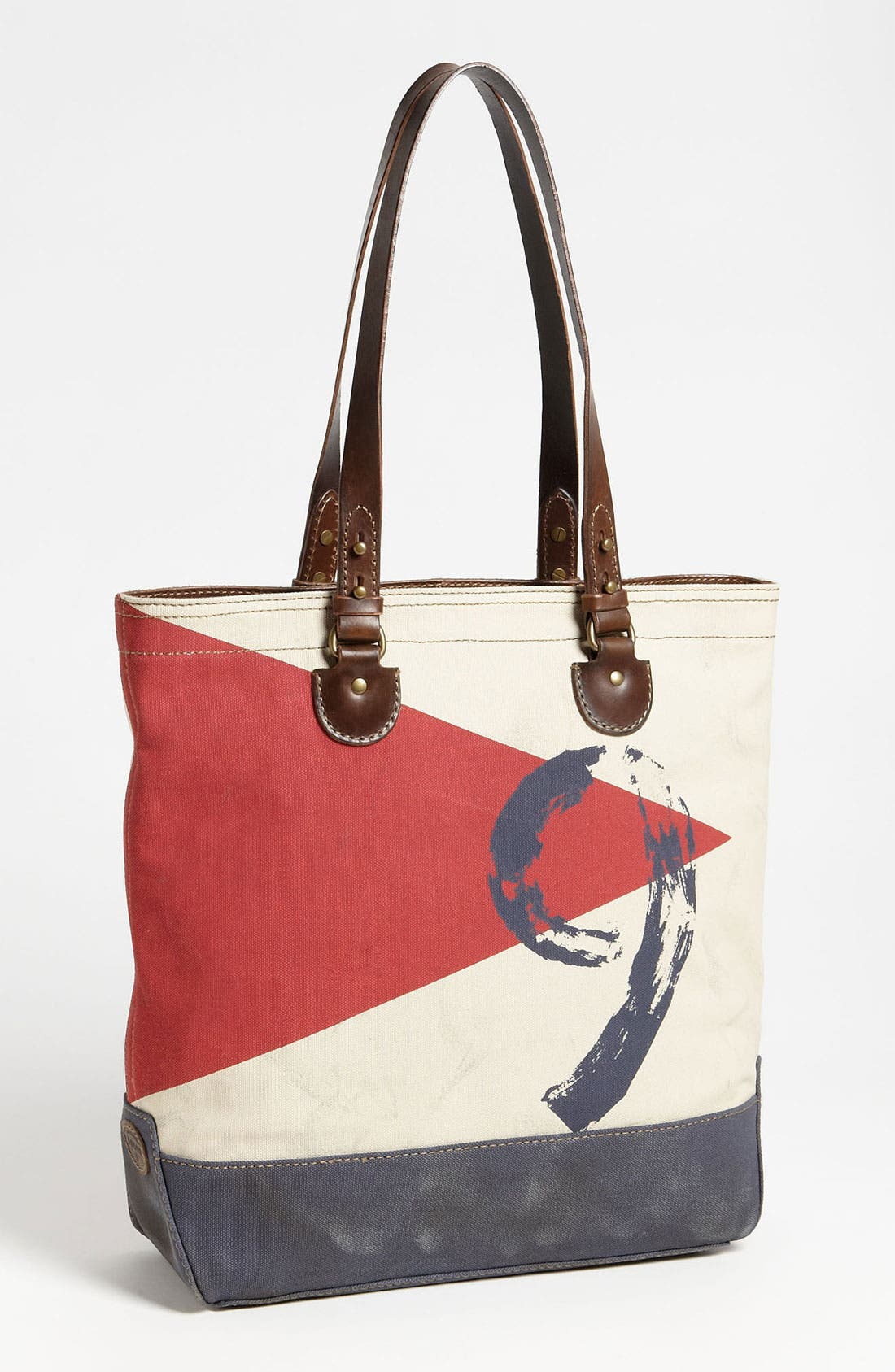 Main Image - Fossil 'Vintage Archive' Canvas Utility Bag