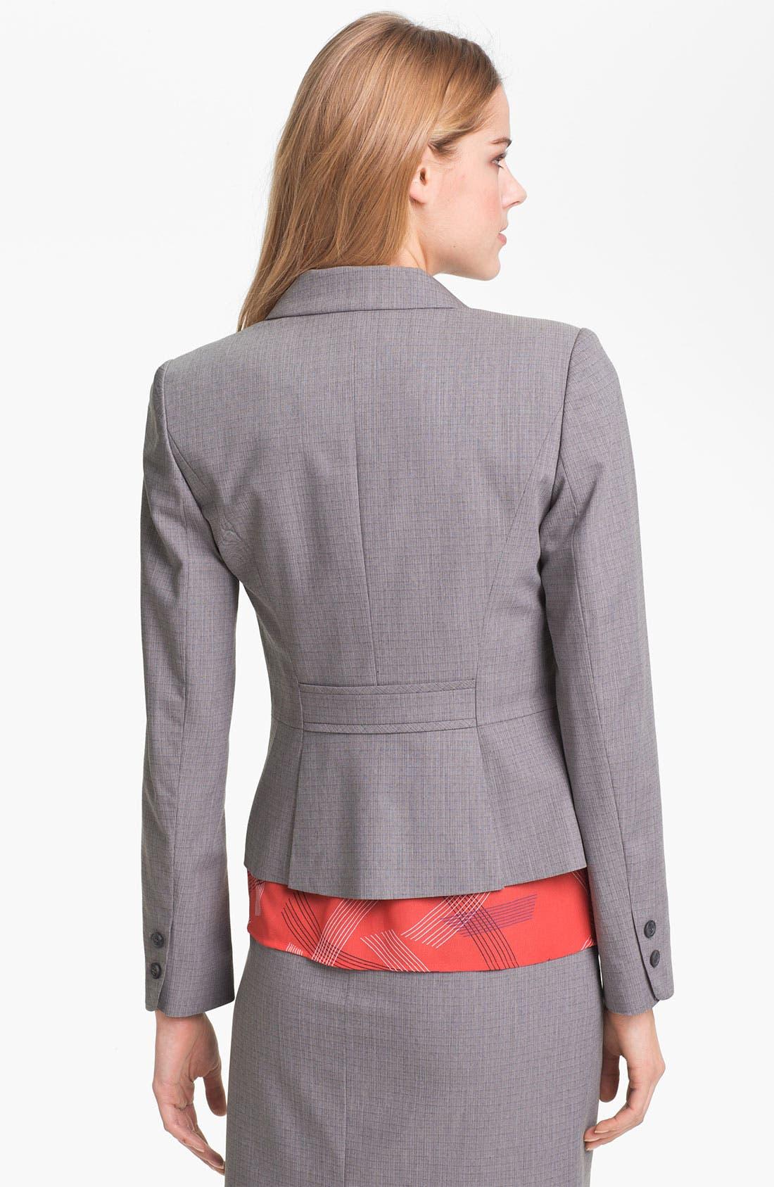 Alternate Image 2  - Halogen® Tonal Texture Suiting Jacket