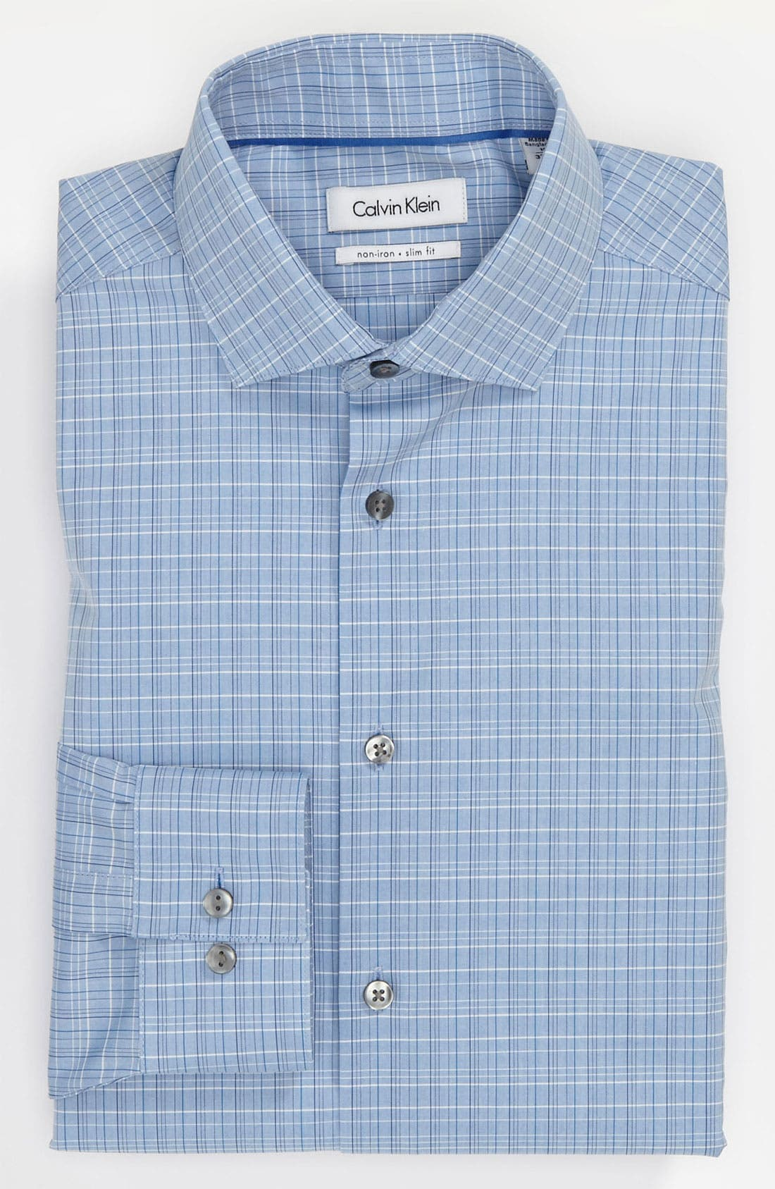 Alternate Image 1 Selected - Calvin Klein Slim Fit Dress Shirt