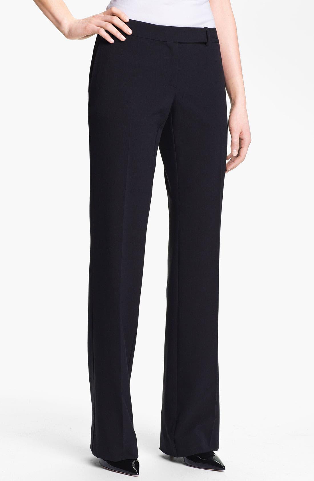 Main Image - Isaac Mizrahi New York Stretch Woven Trousers