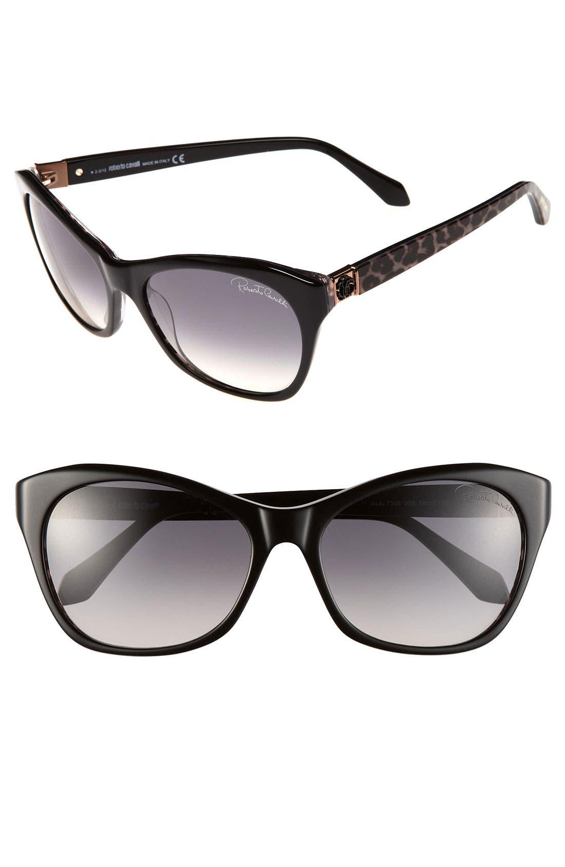 Main Image - Roberto Cavalli 58mm Sunglasses