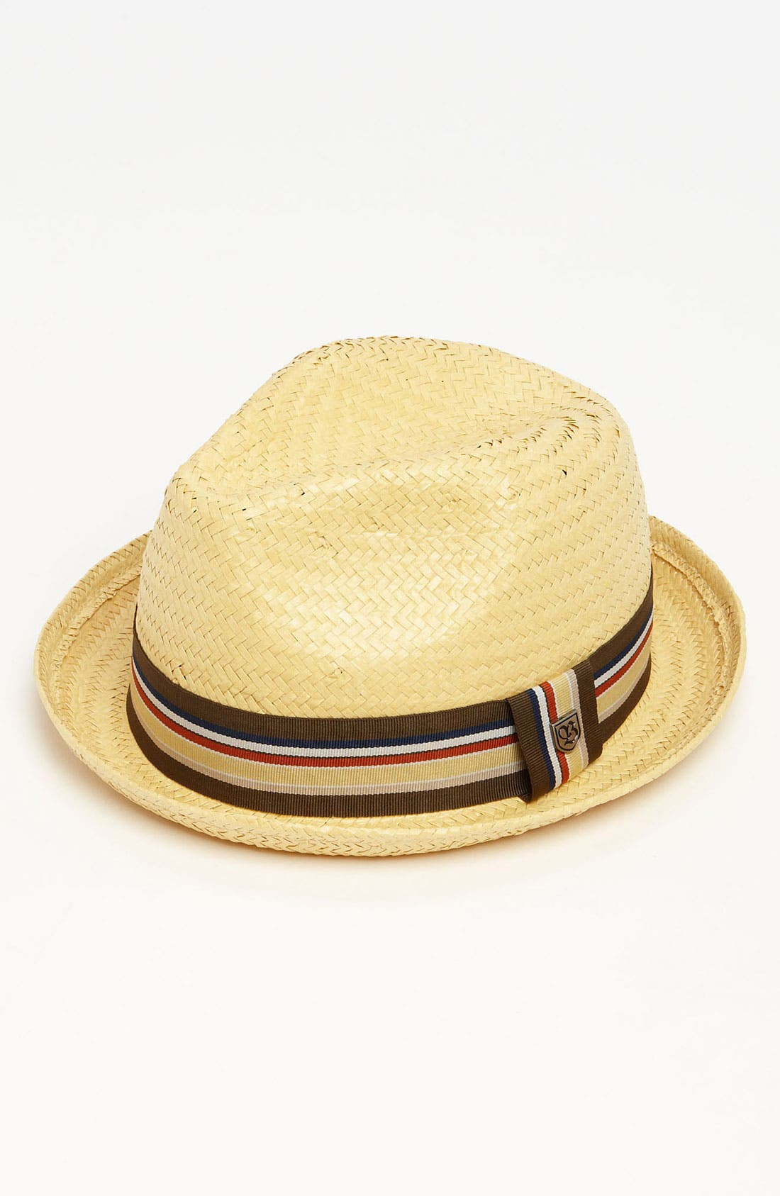 'Castor' Straw Fedora,                             Main thumbnail 1, color,                             Tan