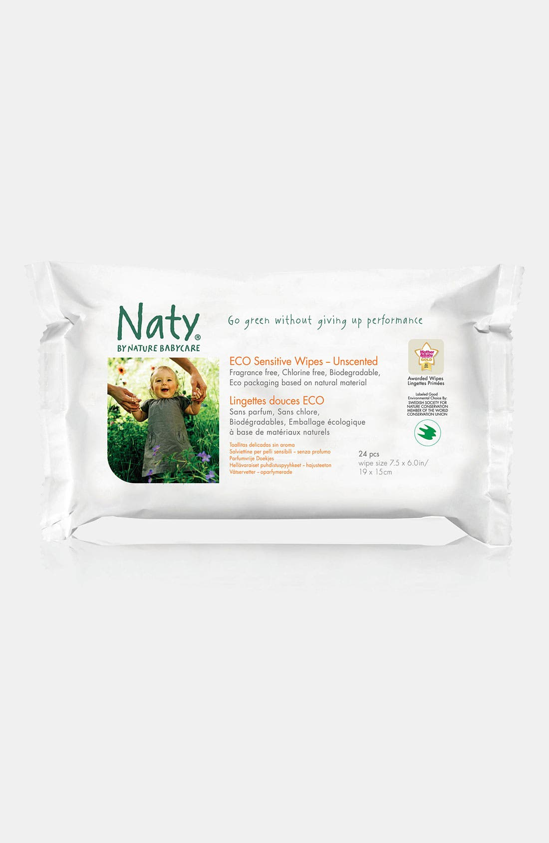 Alternate Image 8  - Naty by Nature Babycare Diaper Starter Set