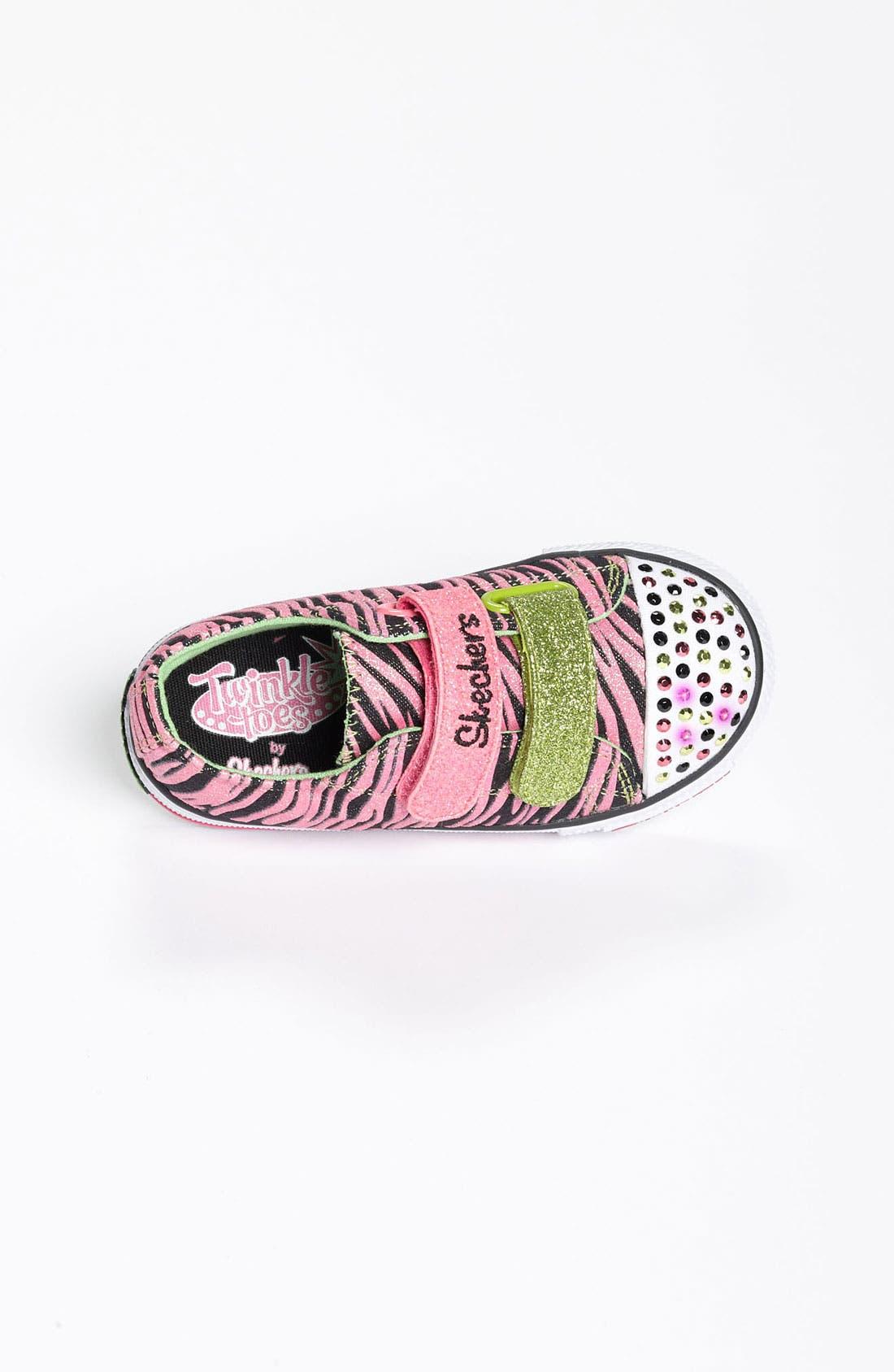 Alternate Image 3  - SKECHERS 'Twinkle Toes' Light-Up Sneaker (Walker & Toddler)(Nordstrom Exclusive)