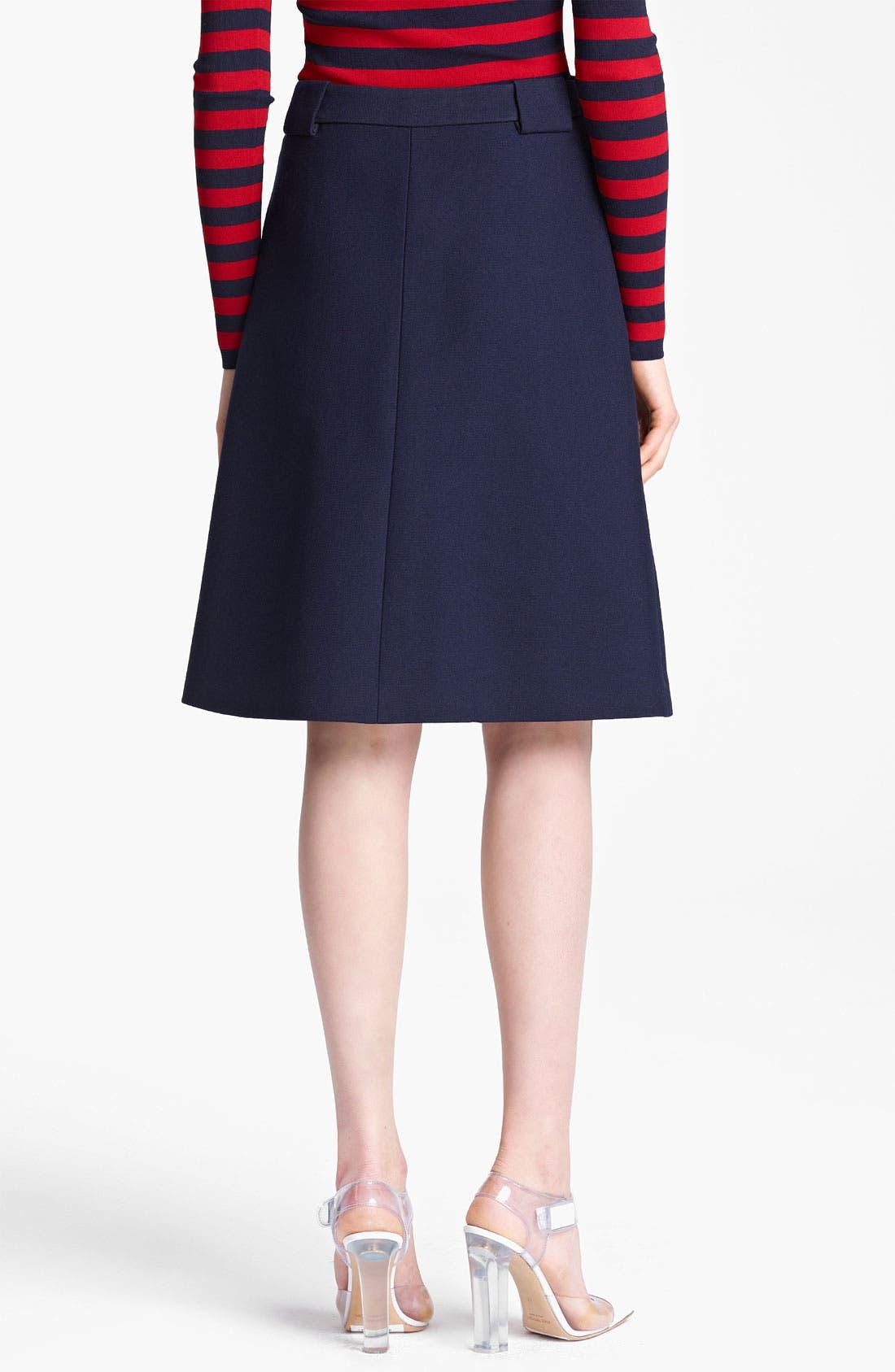 Alternate Image 2  - Michael Kors Gabardine Skirt