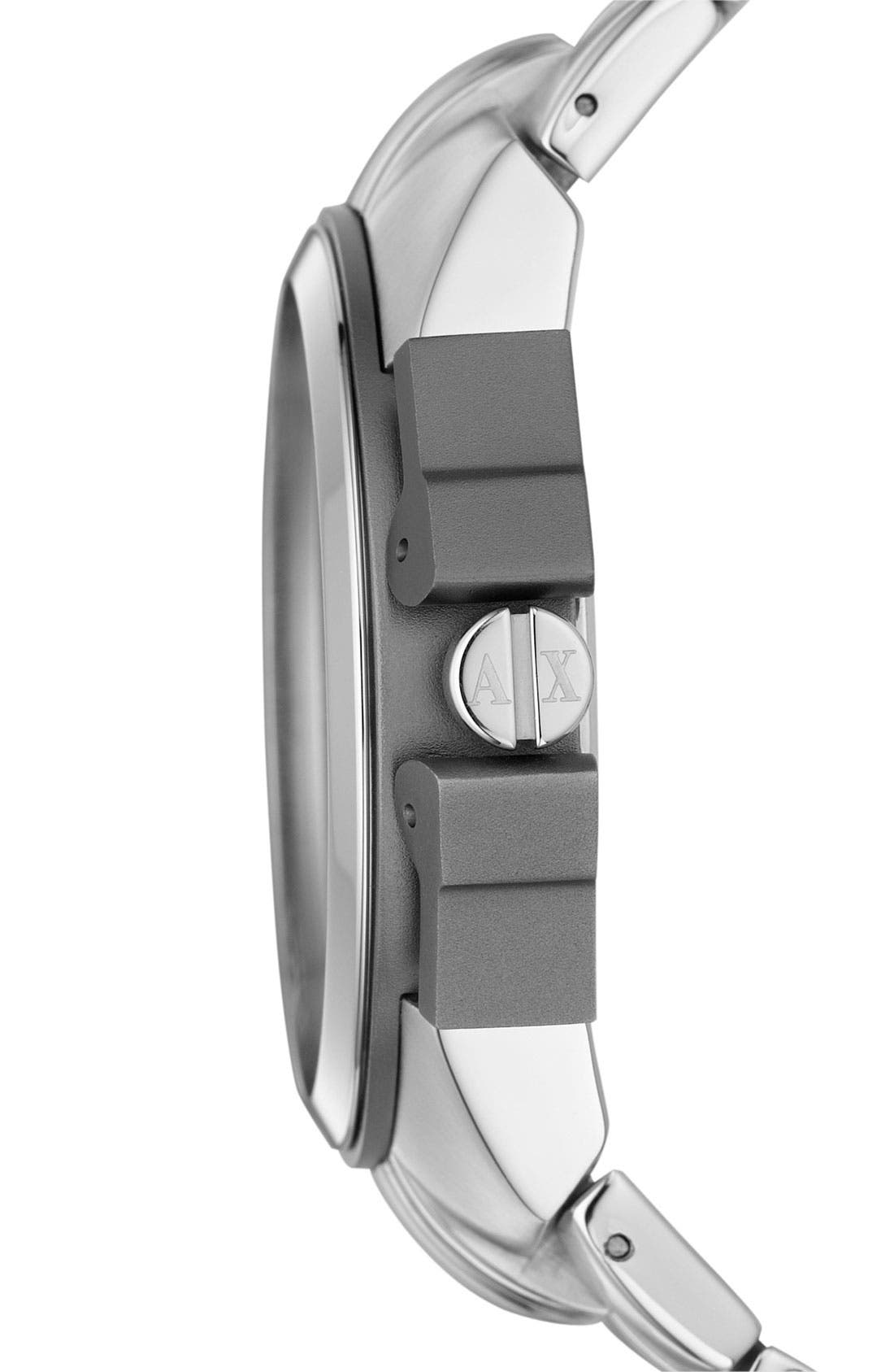 Alternate Image 3  - AX Armani Exchange Men's Chronograph Watch