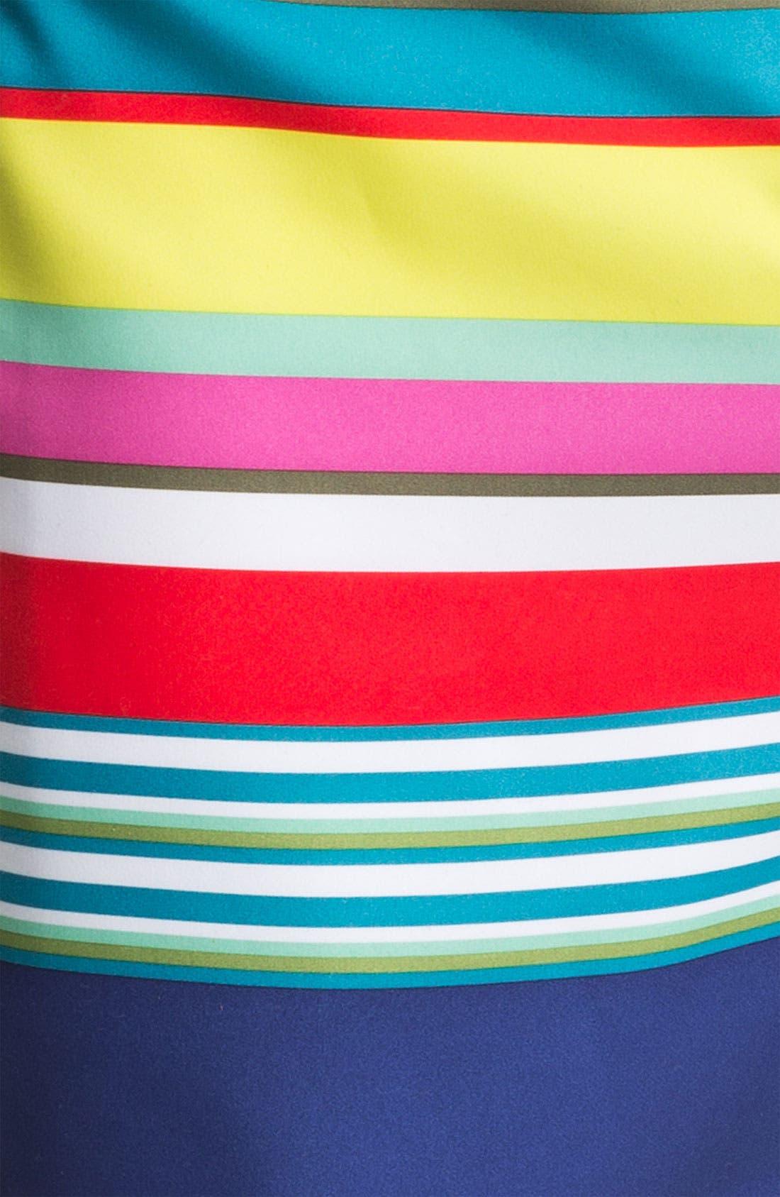 Alternate Image 3  - Original Penguin Stripe Swim Shorts