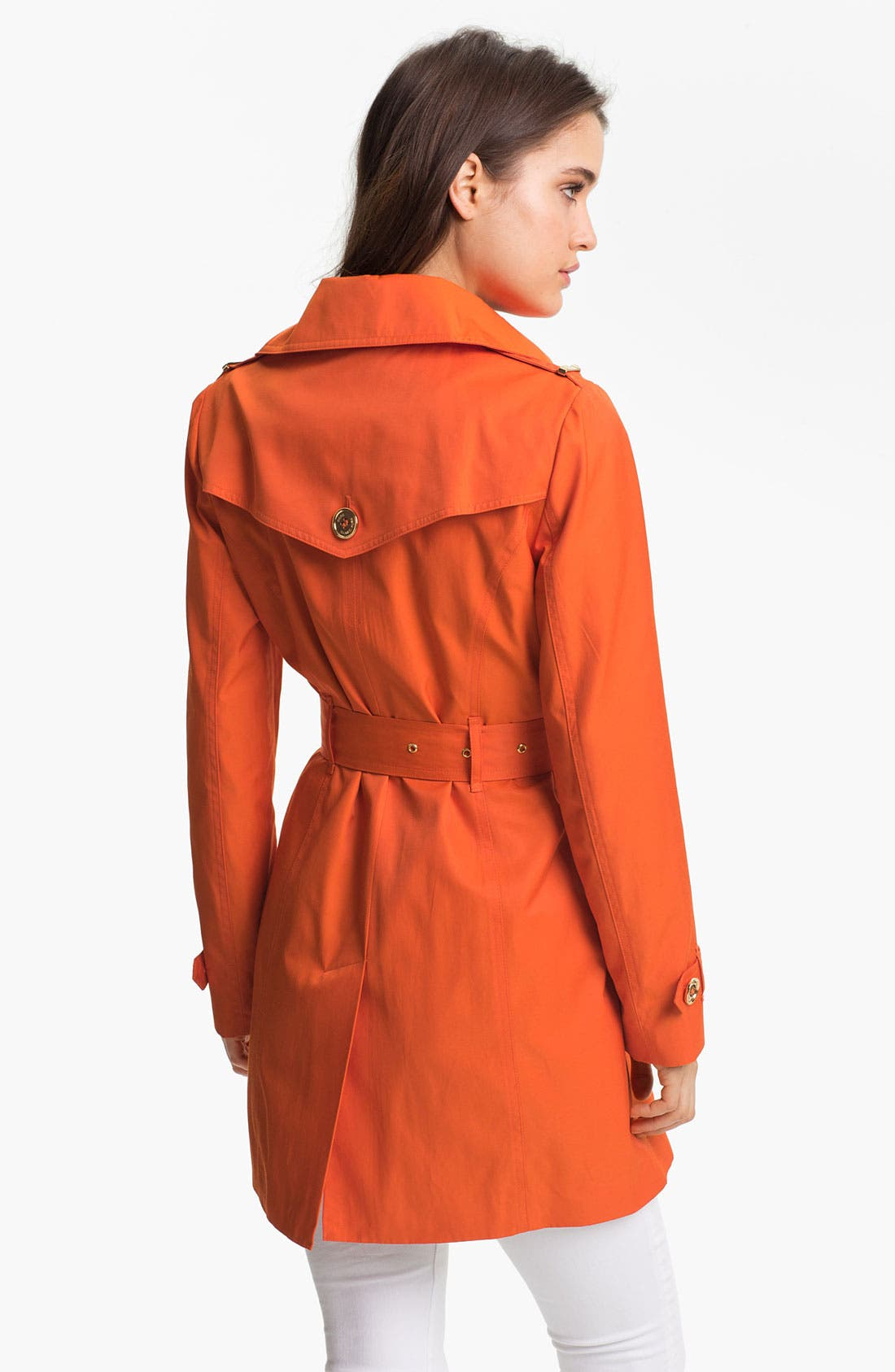 Alternate Image 2  - MICHAEL Michael Kors Double Breasted Trench Coat