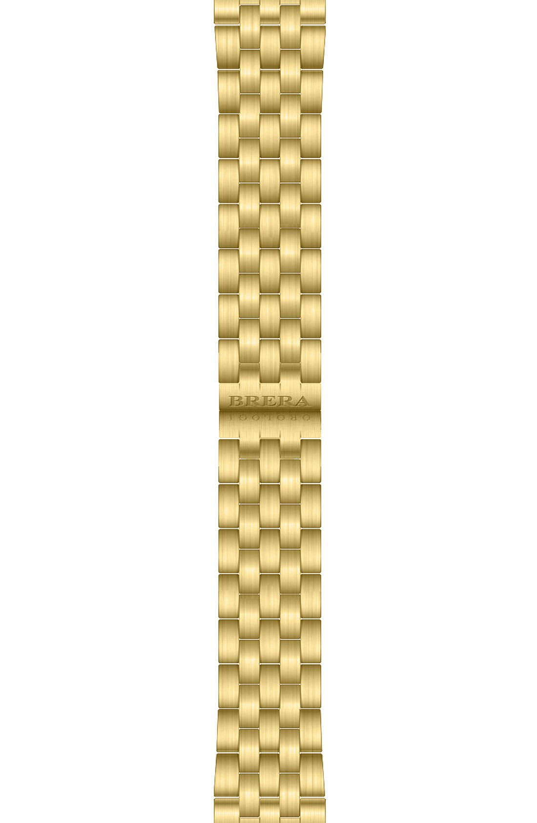 Alternate Image 1 Selected - Brera 'Valentina' 22mm Gold Watch Bracelet
