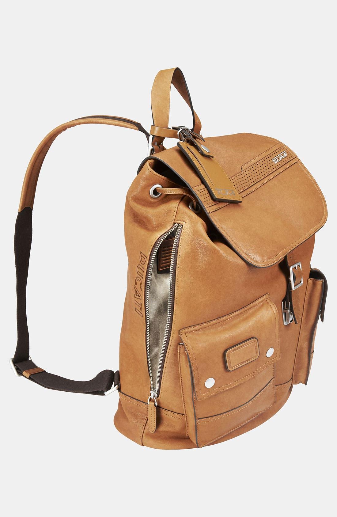 Alternate Image 4  - Tumi 'Ducati Retro - Scrambler' Backpack