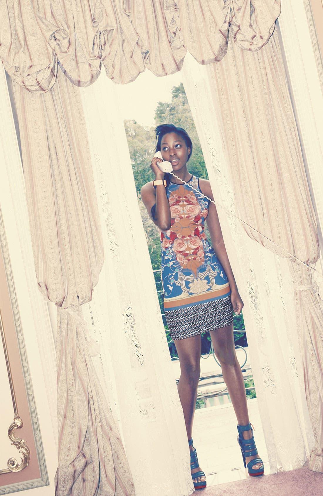 Alternate Image 4  - Dream Daily 'Nouveau Scarf' Dress
