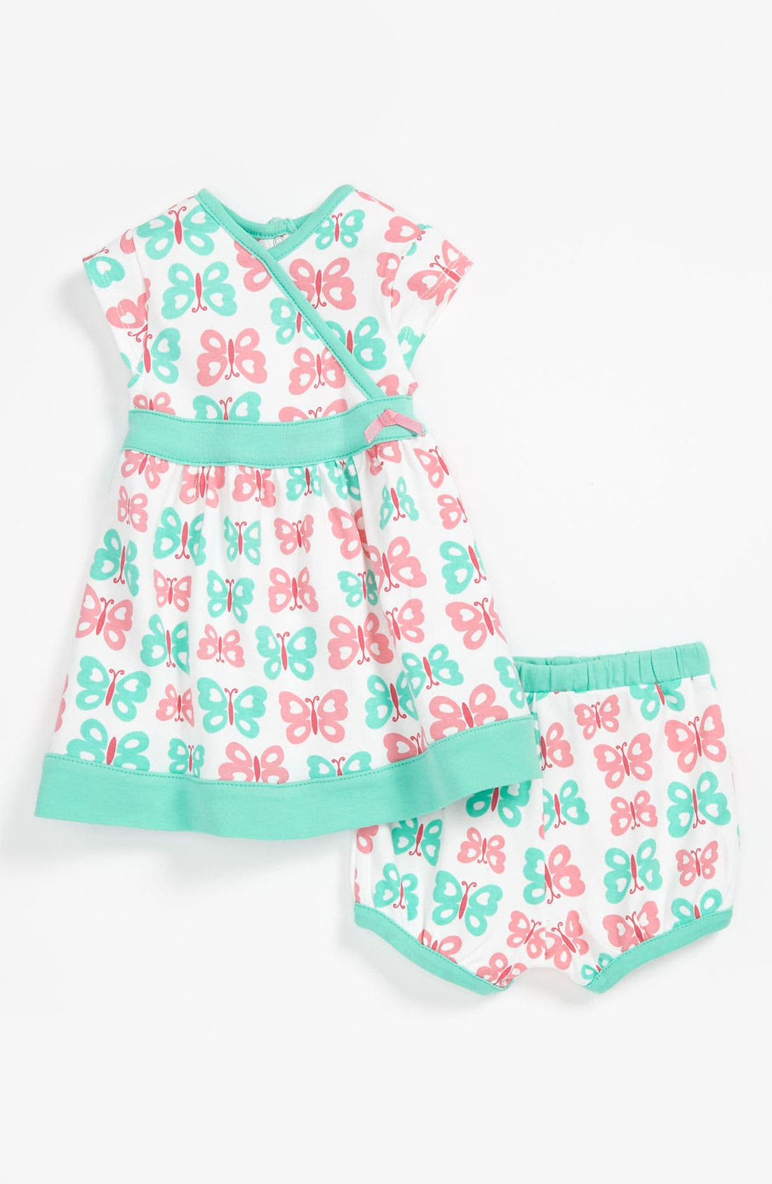 Main Image - Offspring Dress & Bloomers (Baby)