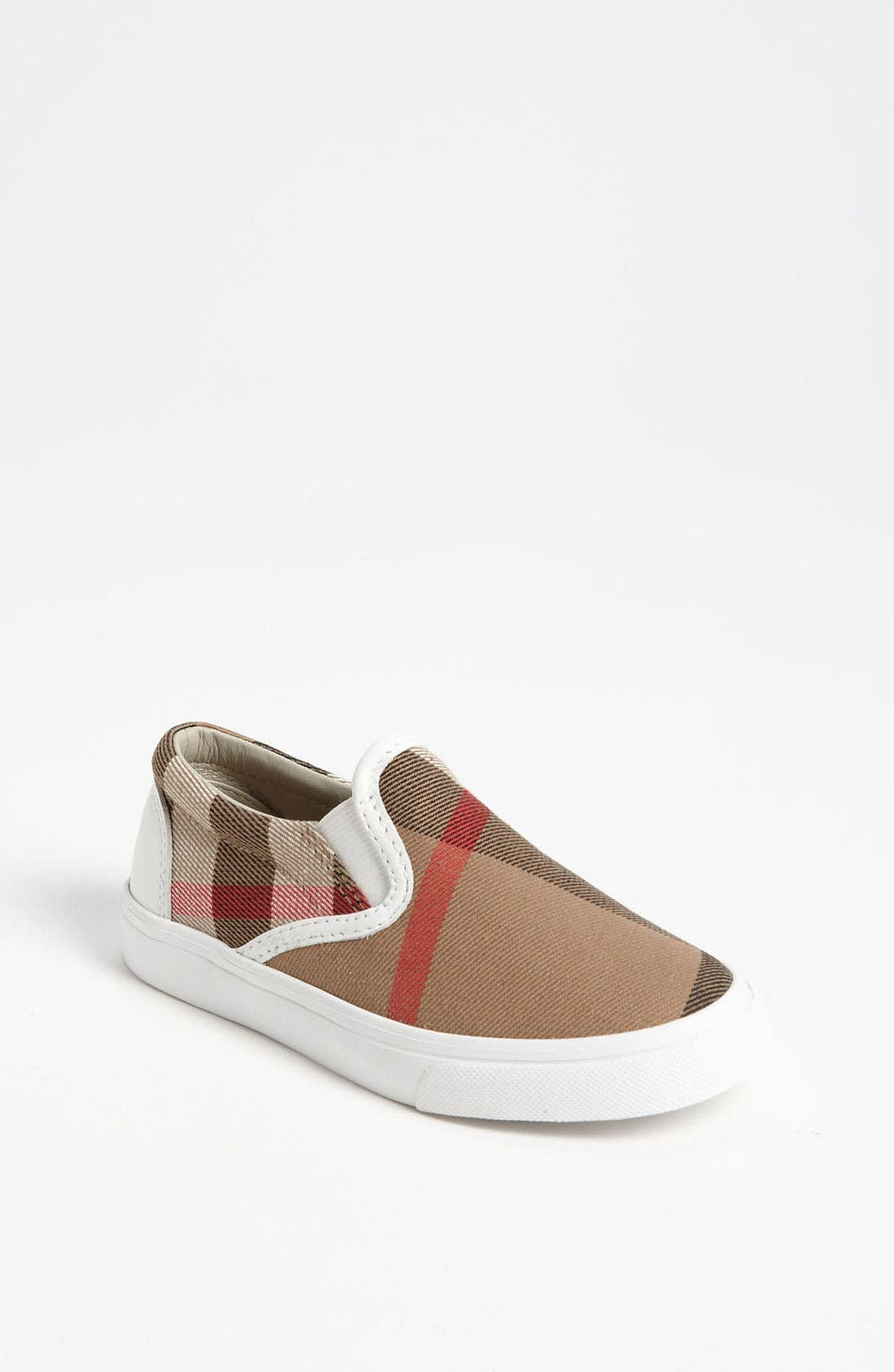 Alternate Image 1 Selected - Burberry Linus Slip-On (Walker, Toddler & Little Kid)