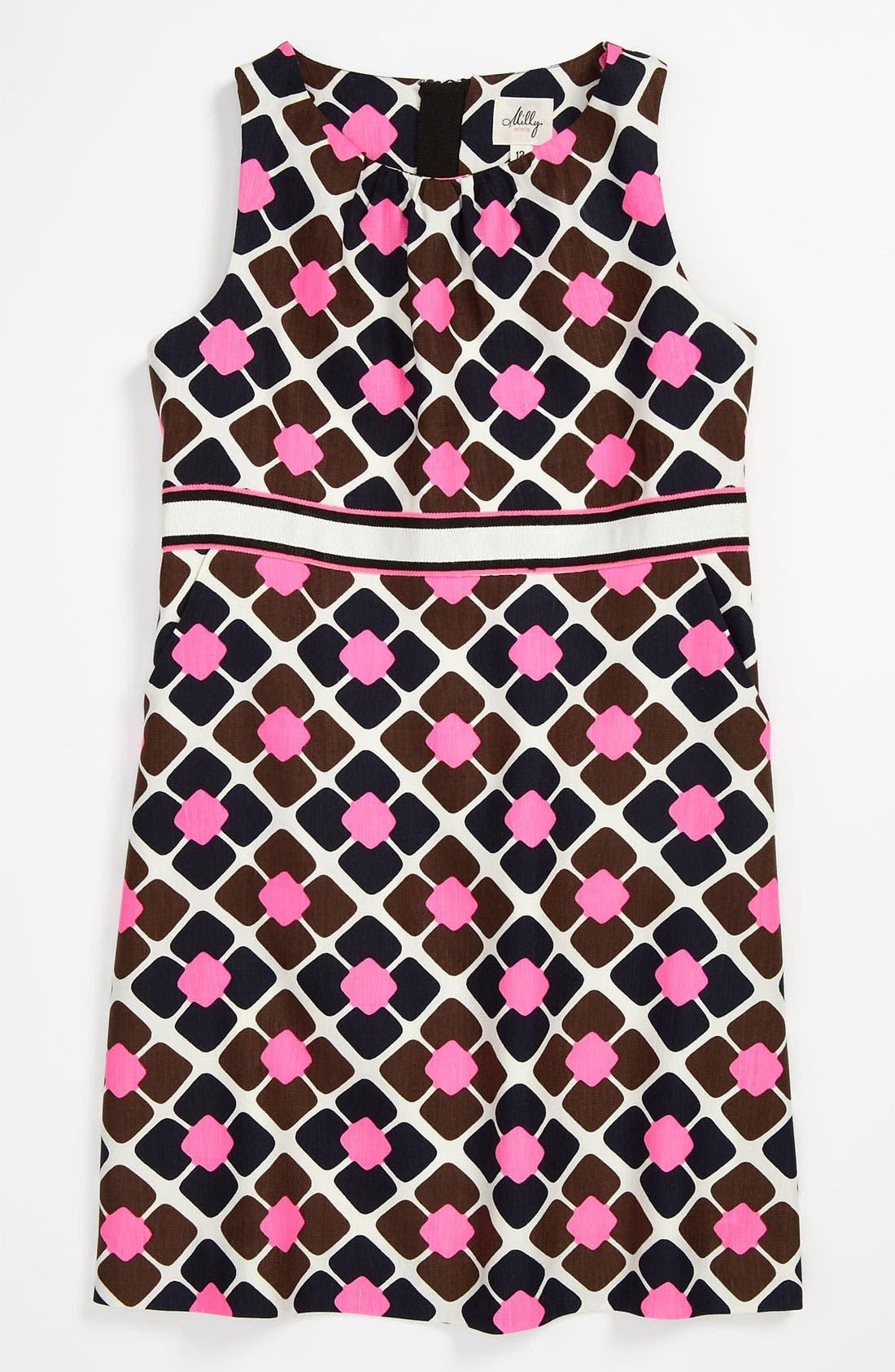 Alternate Image 1 Selected - Milly Minis Sleeveless Dress (Little Girls & Big Girls)