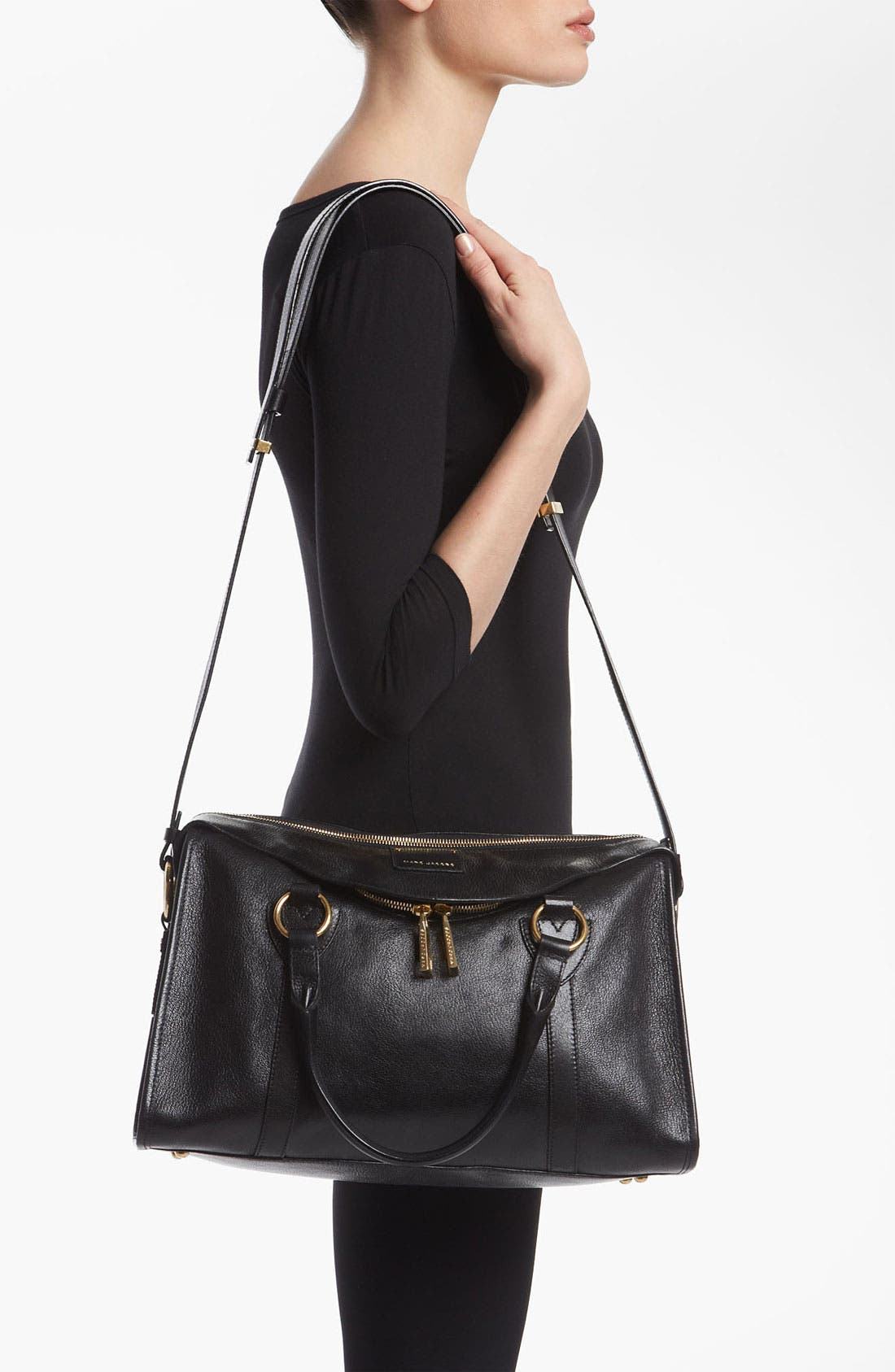 Alternate Image 2  - MARC JACOBS 'Large Wellington Fulton' Leather Satchel