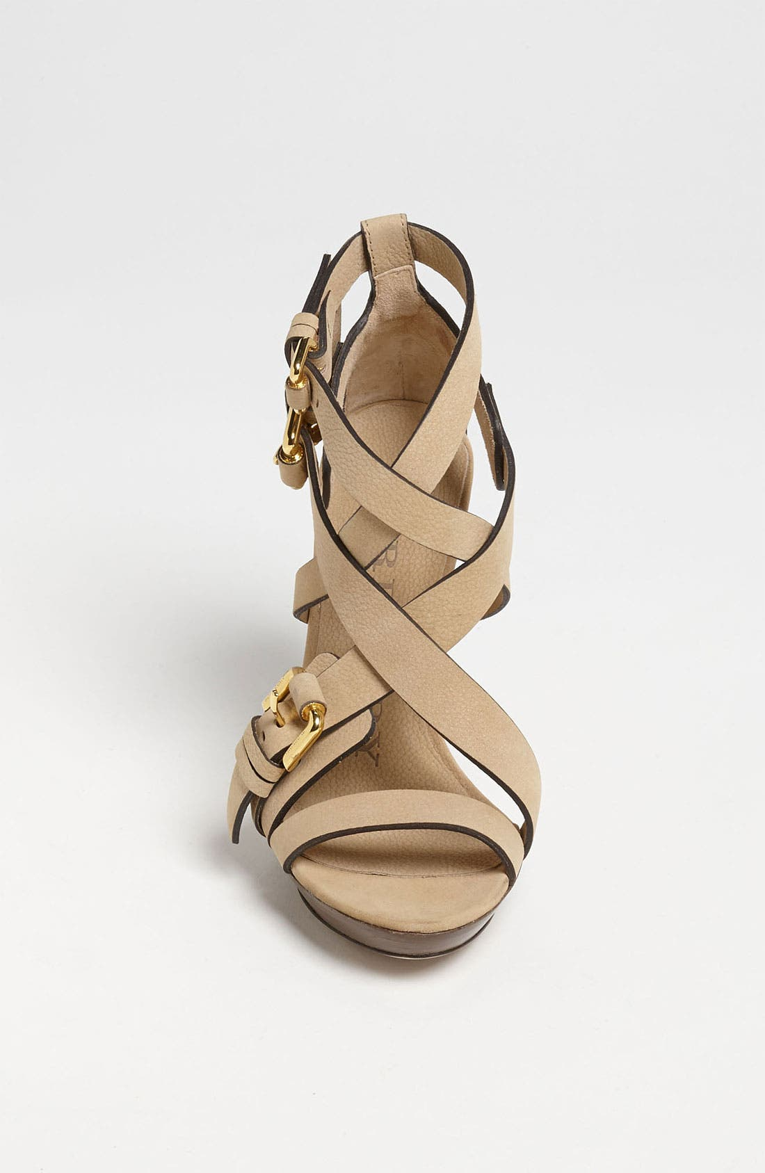 Alternate Image 3  - Burberry Buckle Detail Sandal